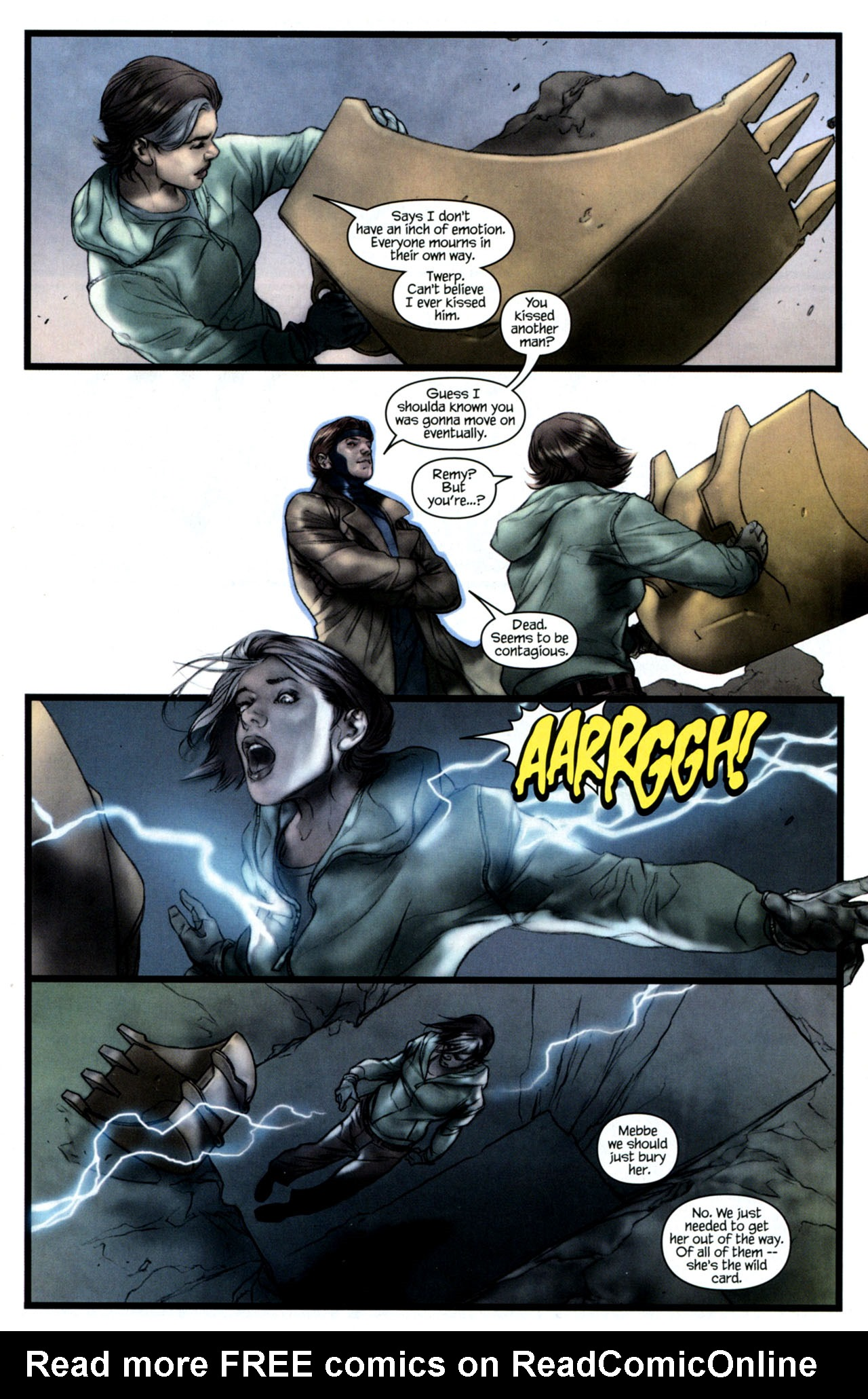 Read online Ultimatum: X-Men Requiem comic -  Issue # Full - 12