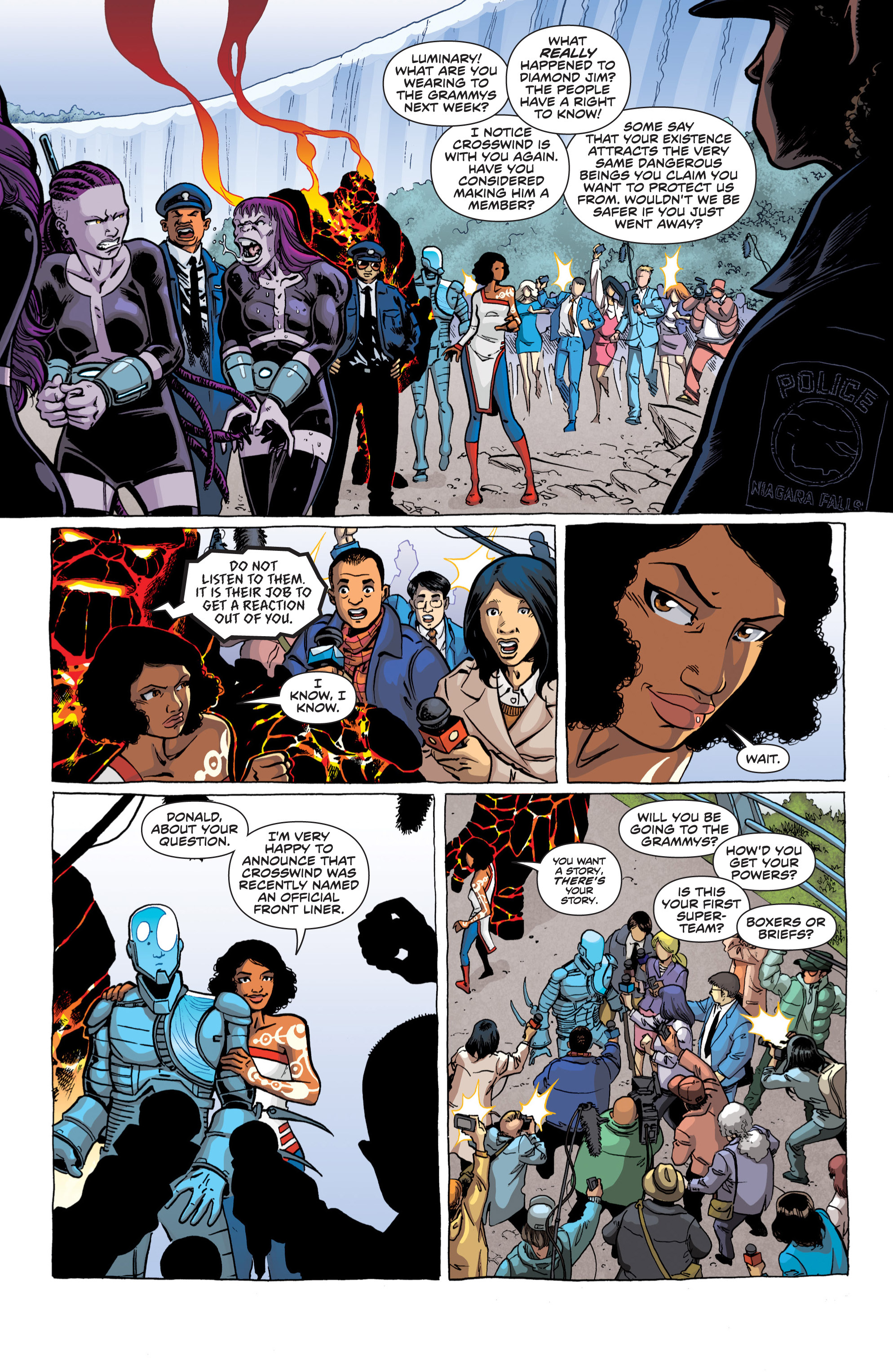 Read online Secret Identities comic -  Issue #2 - 7