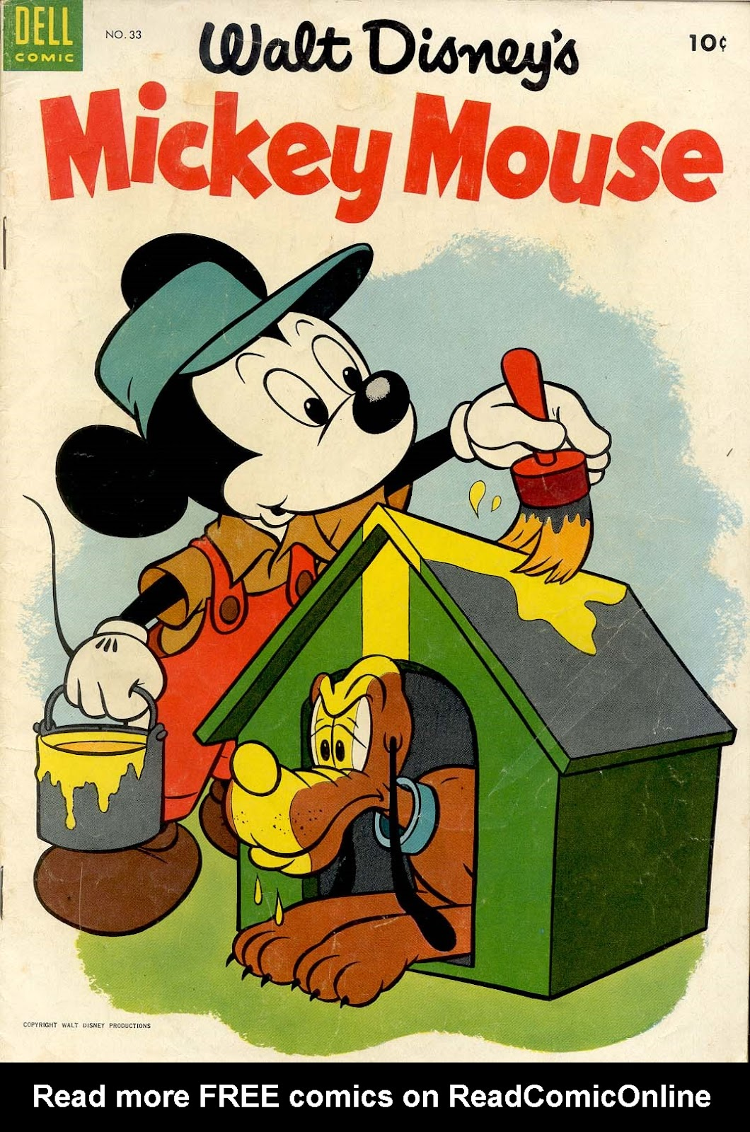 Walt Disney's Mickey Mouse issue 33 - Page 1