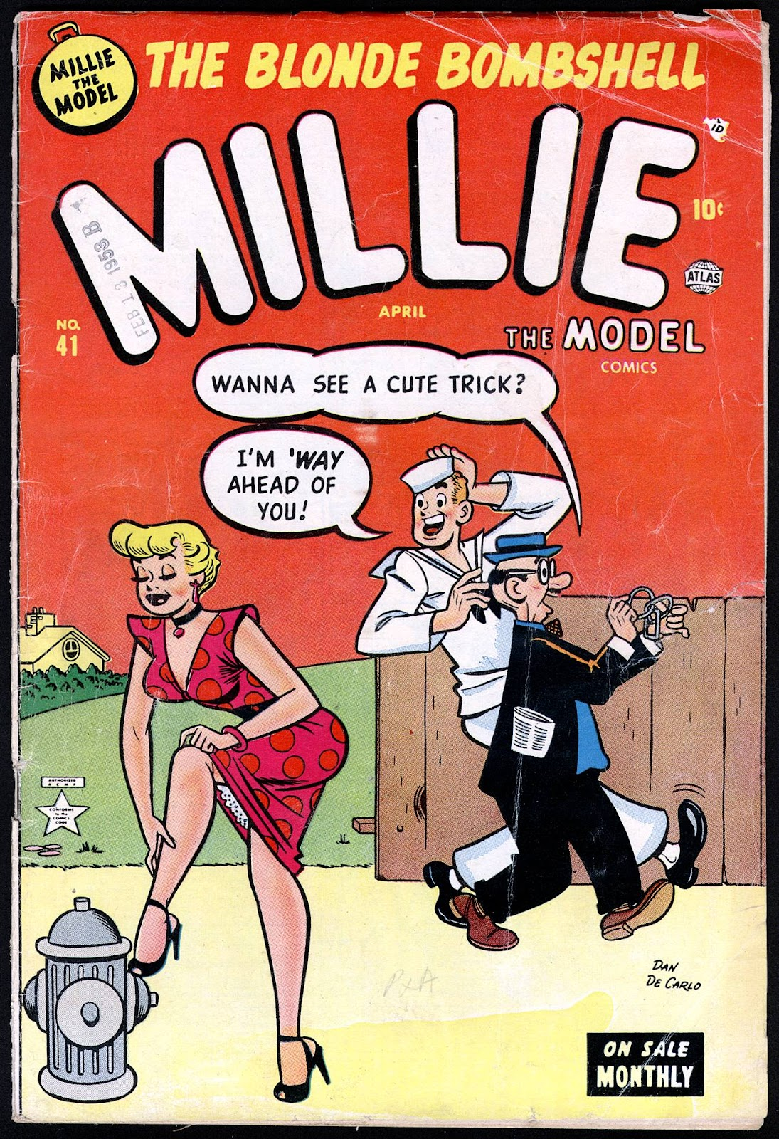 Millie the Model issue 41 - Page 1