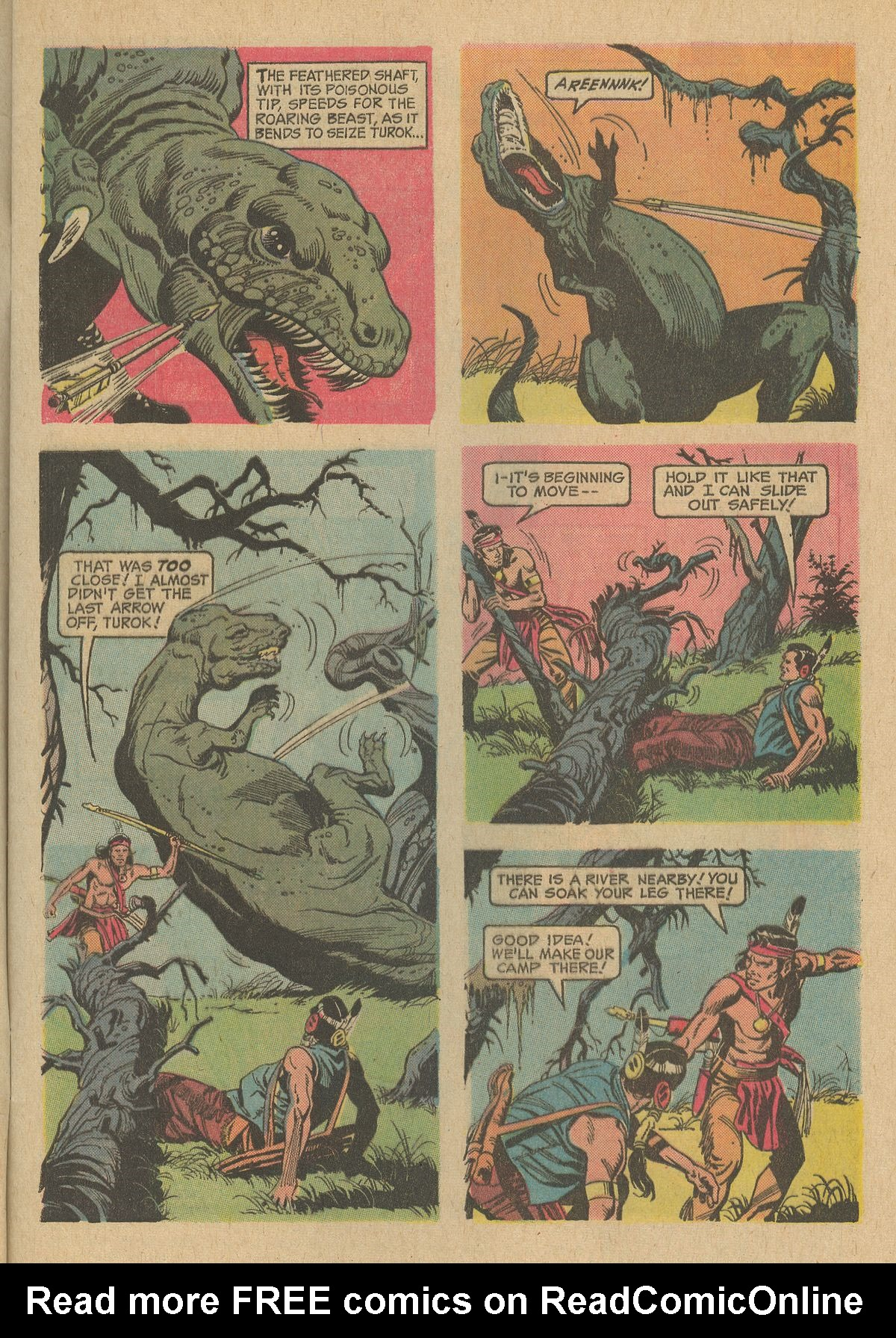 Read online Turok, Son of Stone comic -  Issue #80 - 5