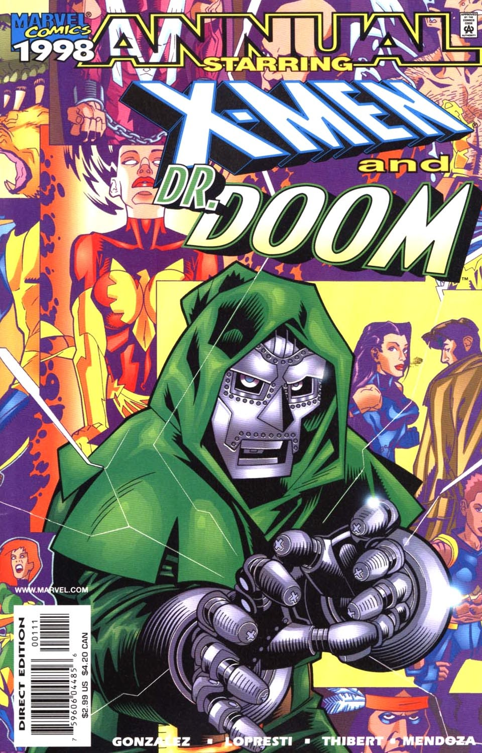 X-Men/Dr. Doom '98 issue Full - Page 1