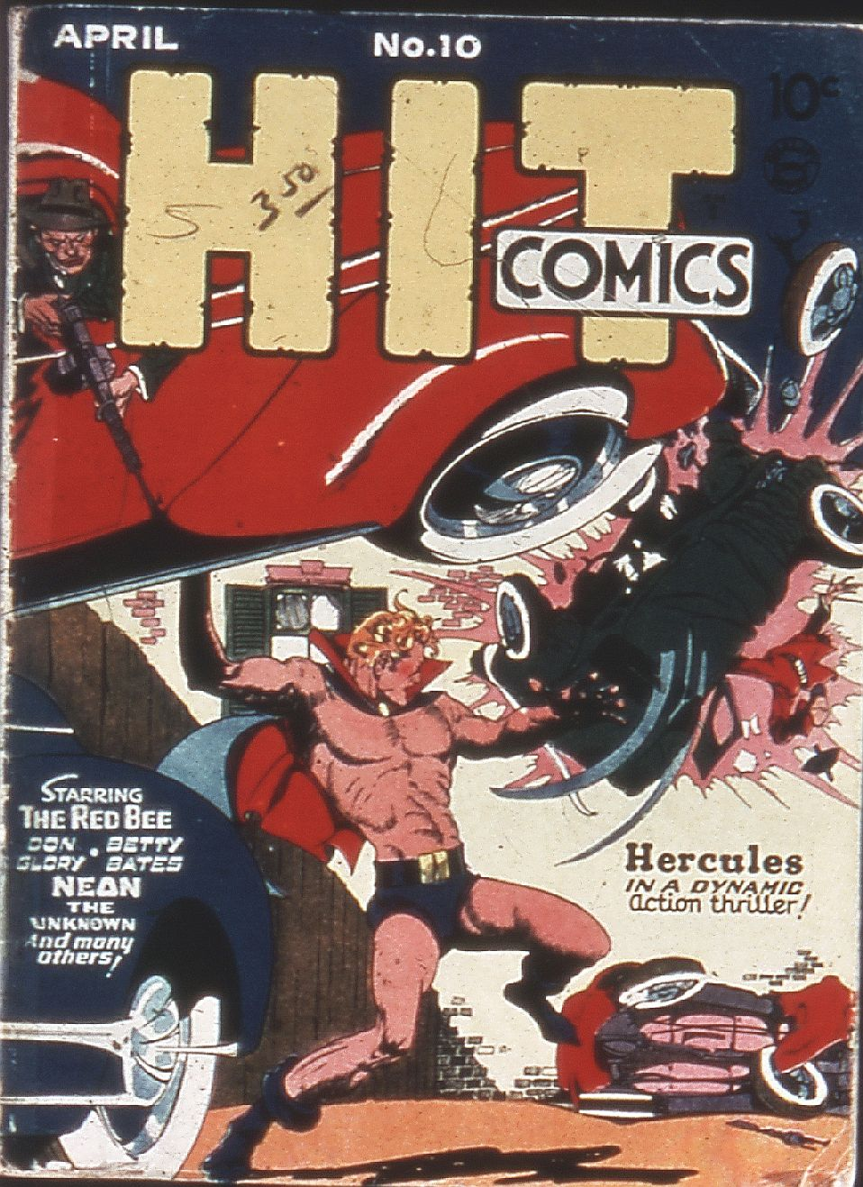 Read online Hit Comics comic -  Issue #10 - 1