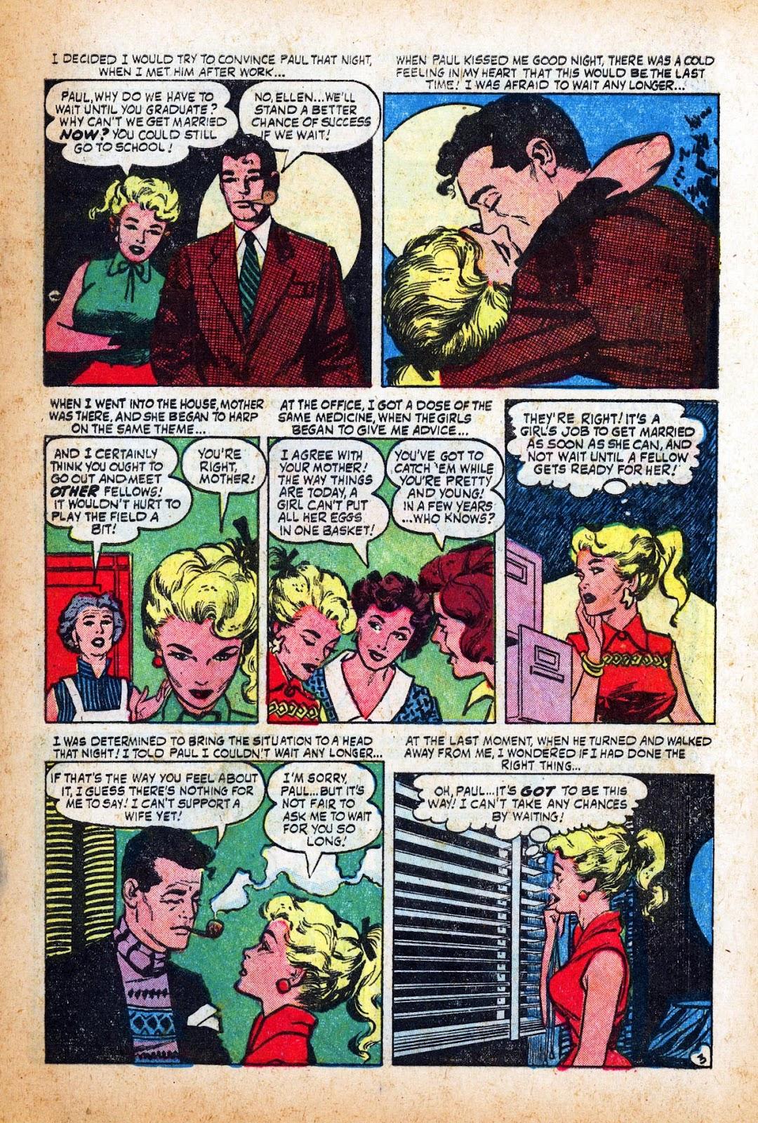 Love Romances (1949) issue 47 - Page 5