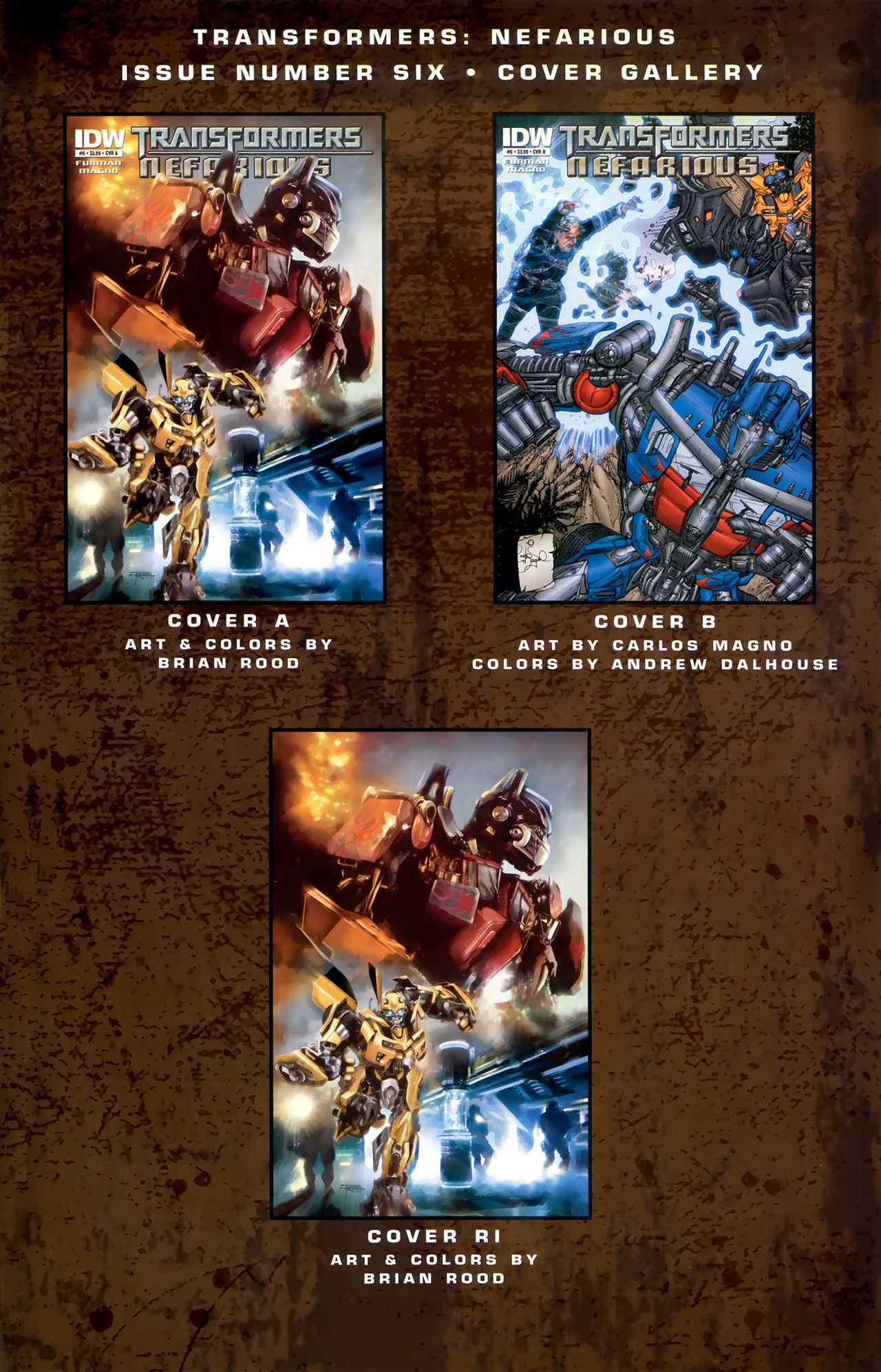 Read online Transformers: Nefarious comic -  Issue #6 - 26