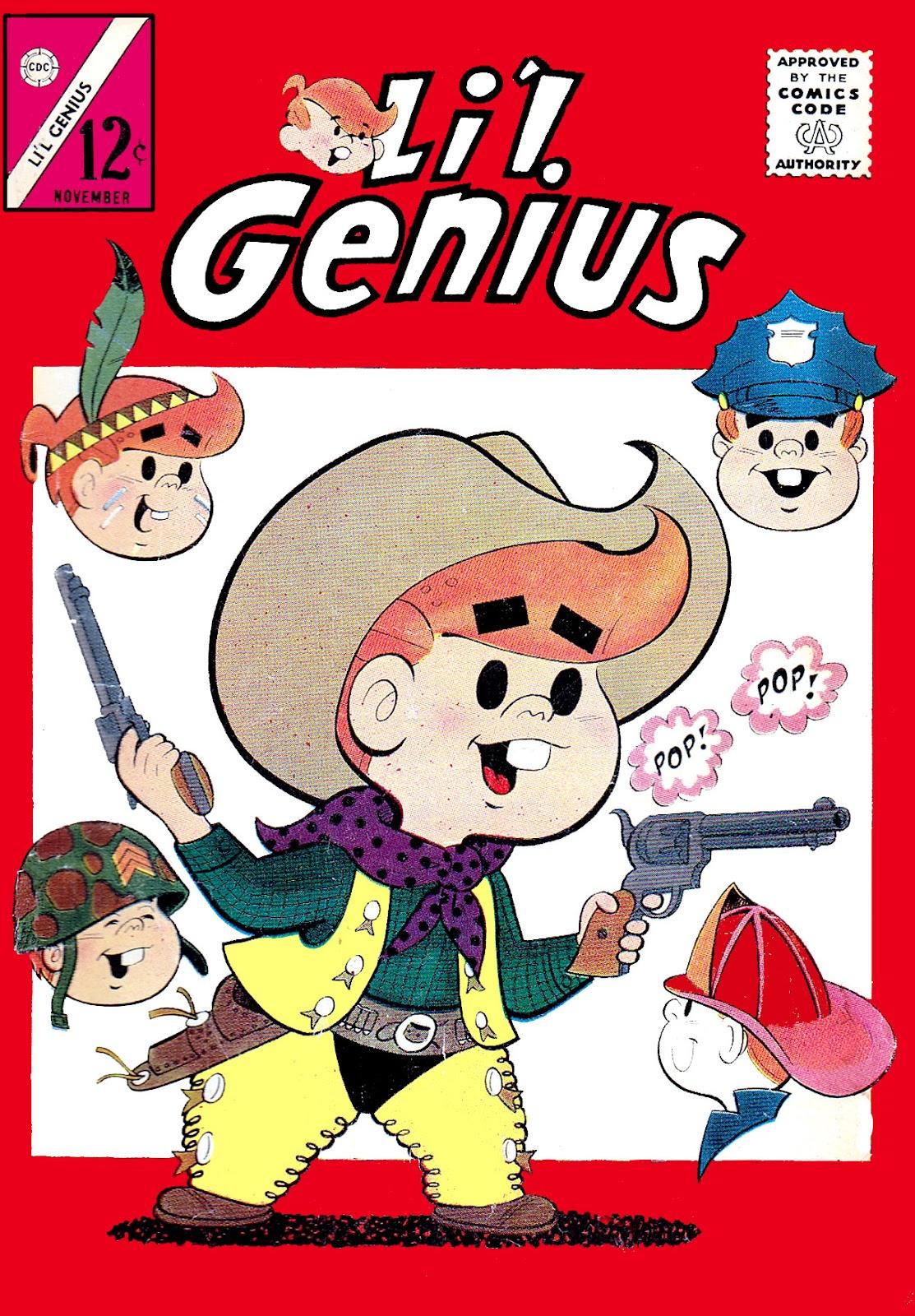 Lil Genius 47 Page 1