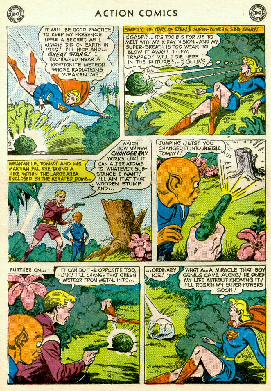 Read online Action Comics (1938) comic -  Issue #255 - 29