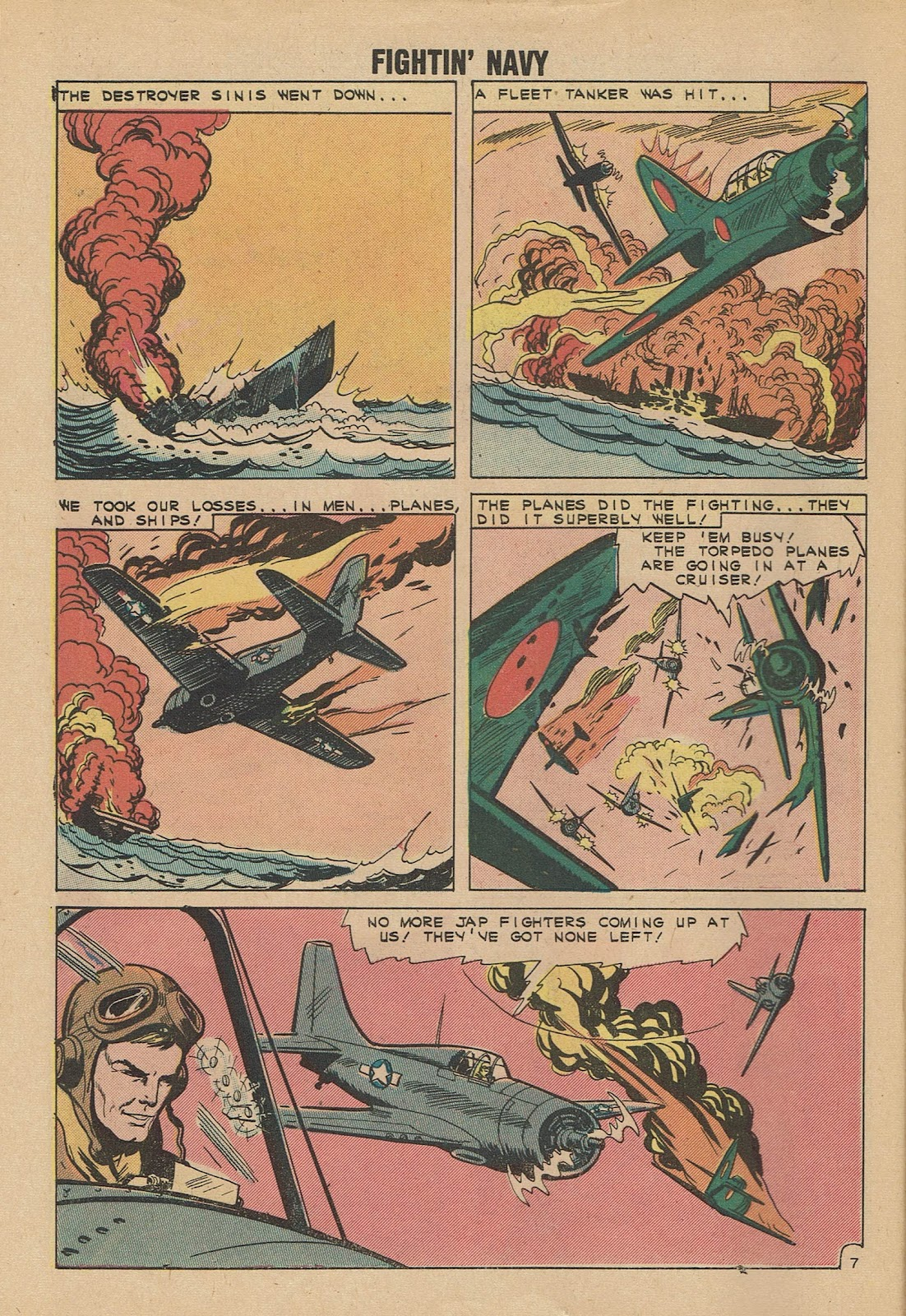 Read online Fightin' Navy comic -  Issue #101 - 10