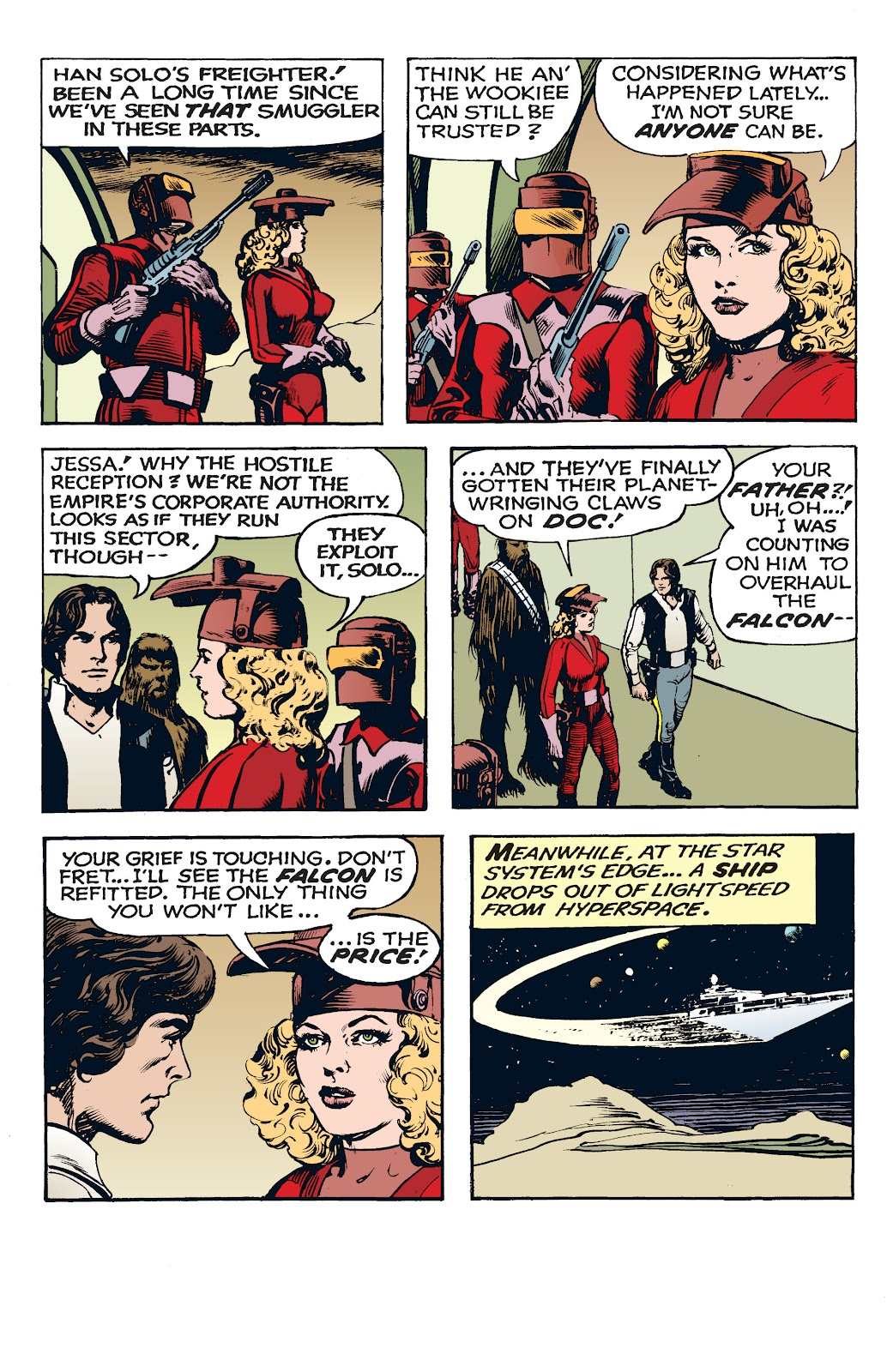 Read online Star Wars Legends: The Newspaper Strips - Epic Collection comic -  Issue # TPB (Part 4) - 11