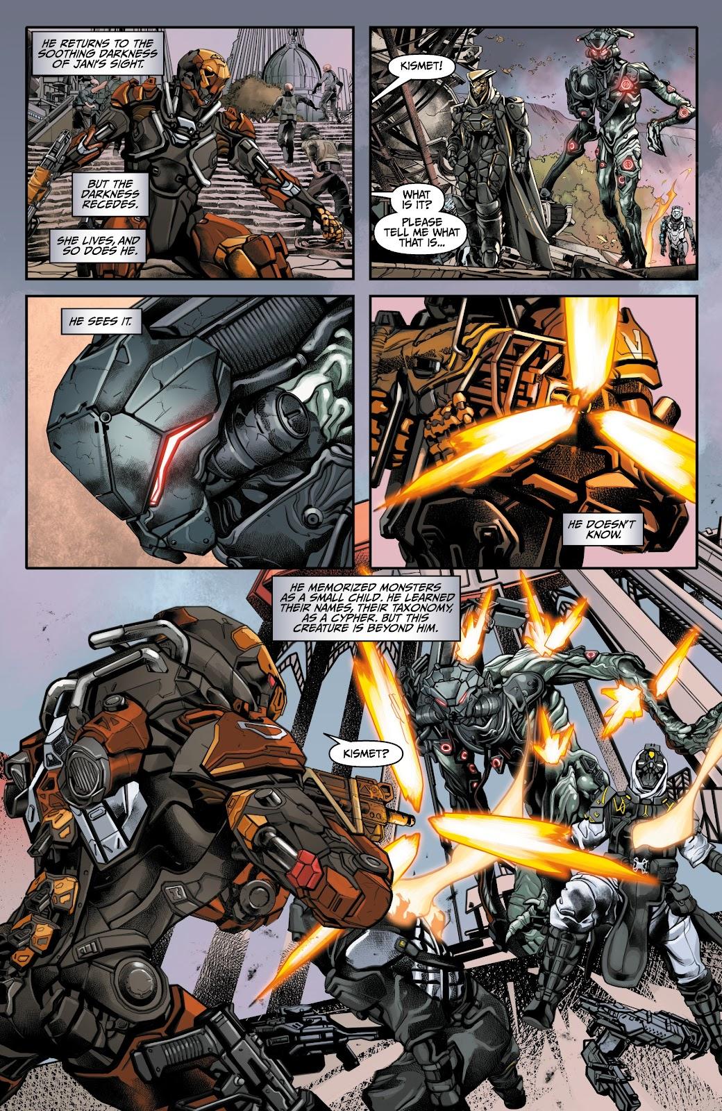 Read online Anthem comic -  Issue #3 - 10