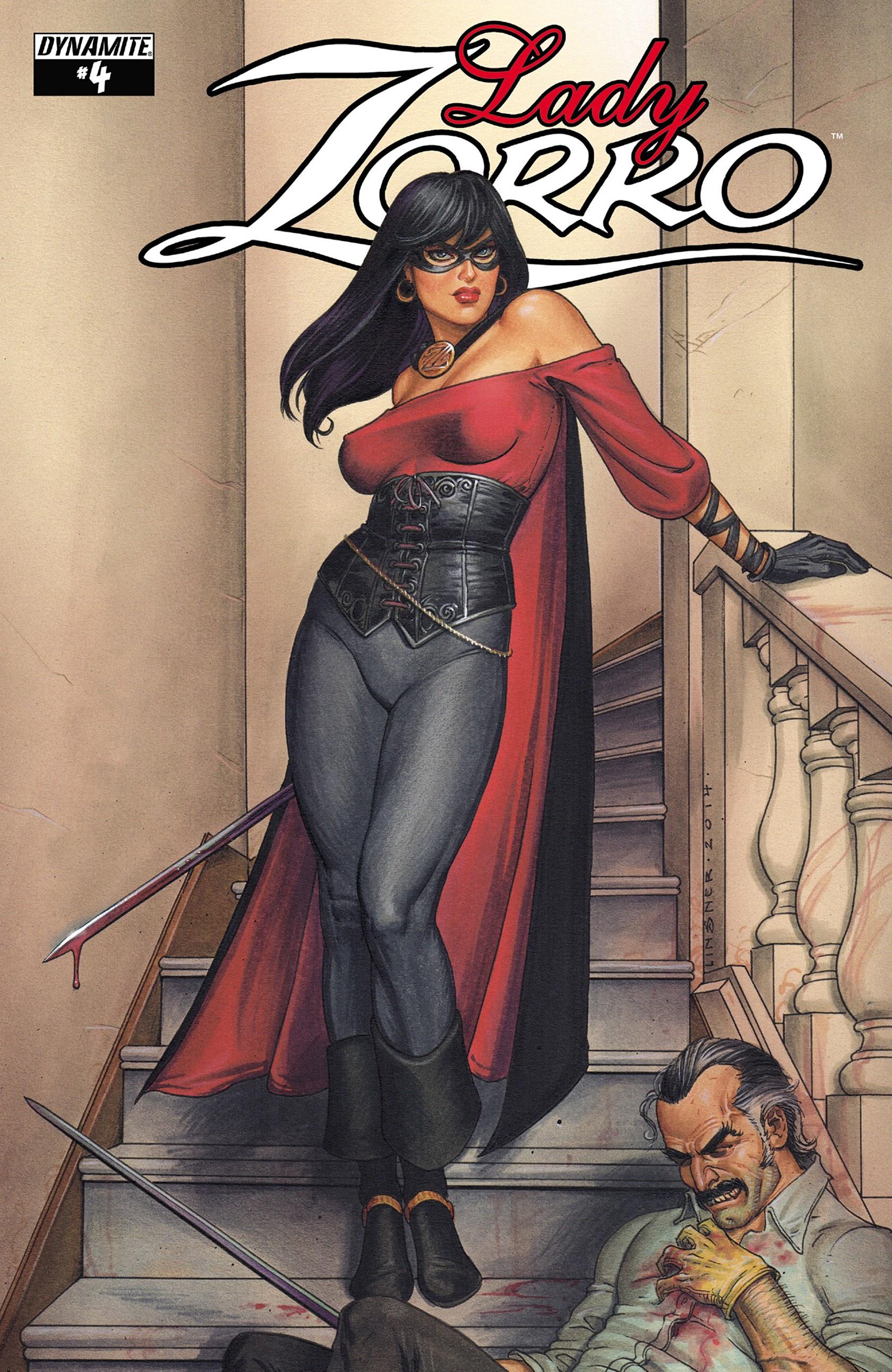 Lady Zorro 4 Page 1