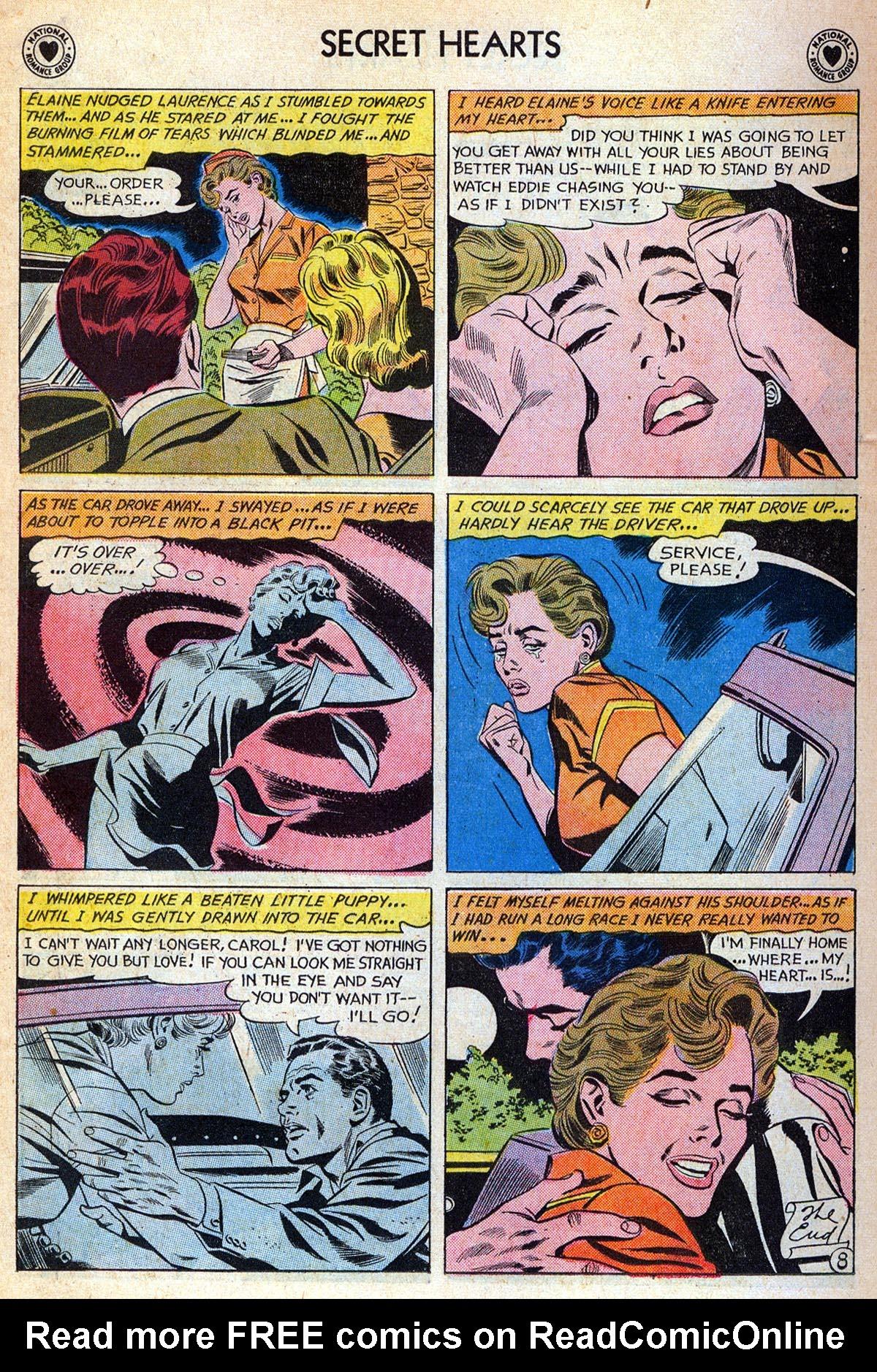 Read online Secret Hearts comic -  Issue #76 - 34