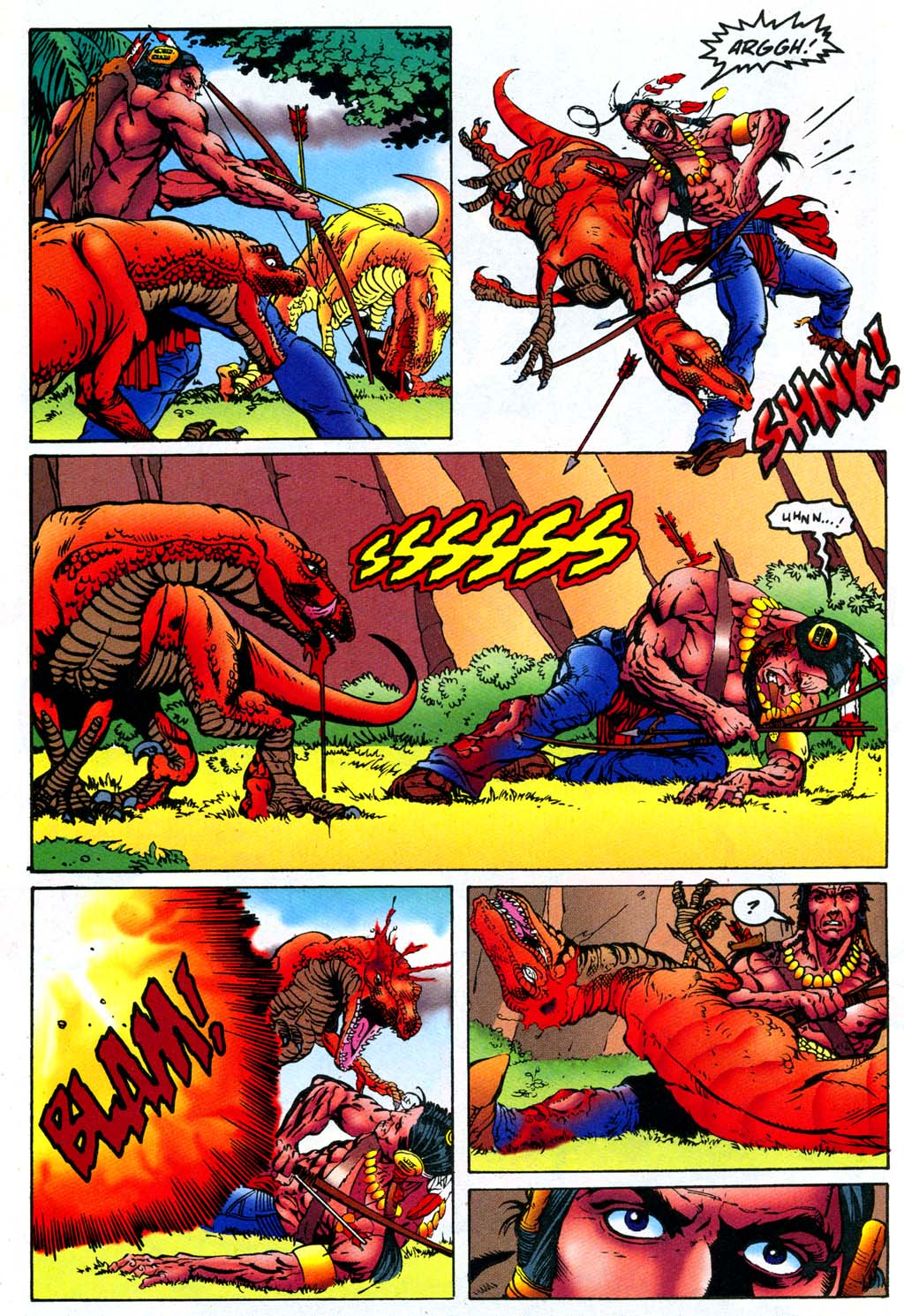 Read online Turok, Dinosaur Hunter (1993) comic -  Issue #47 - 13