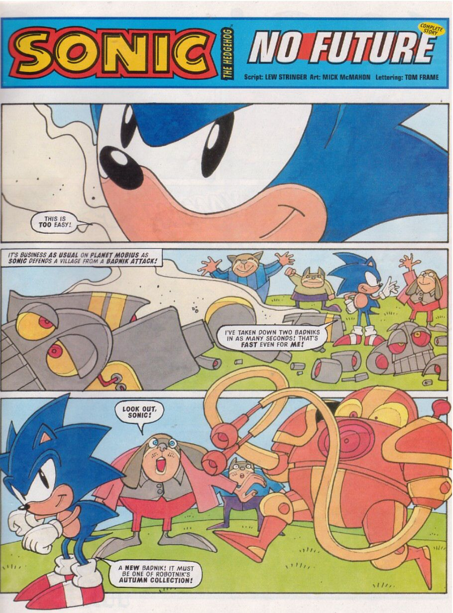 Read online Sonic the Comic comic -  Issue #112 - 3