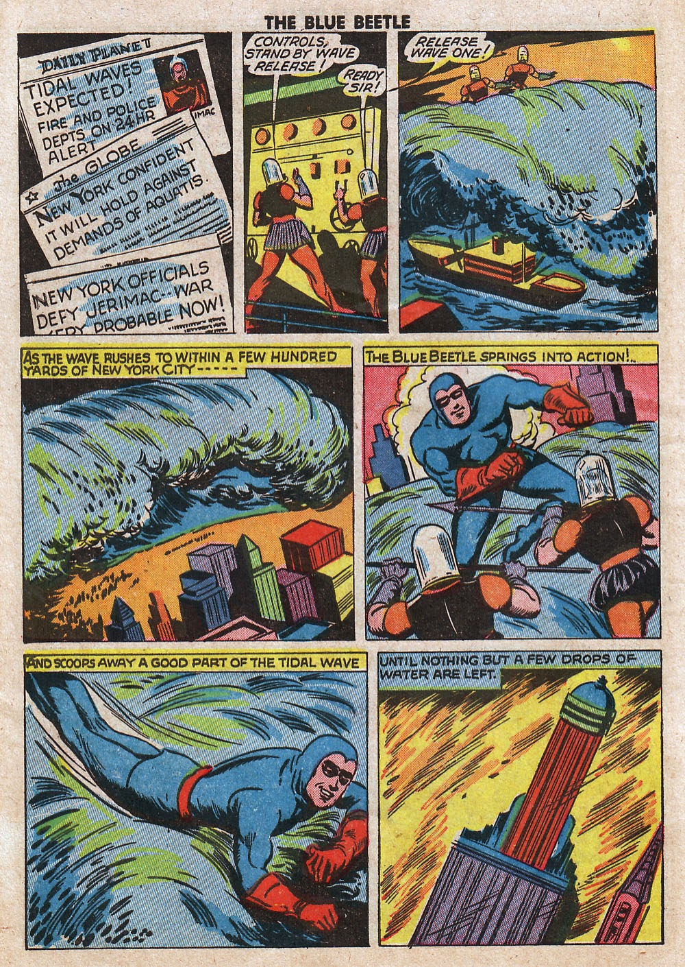 The Blue Beetle issue 33 - Page 42