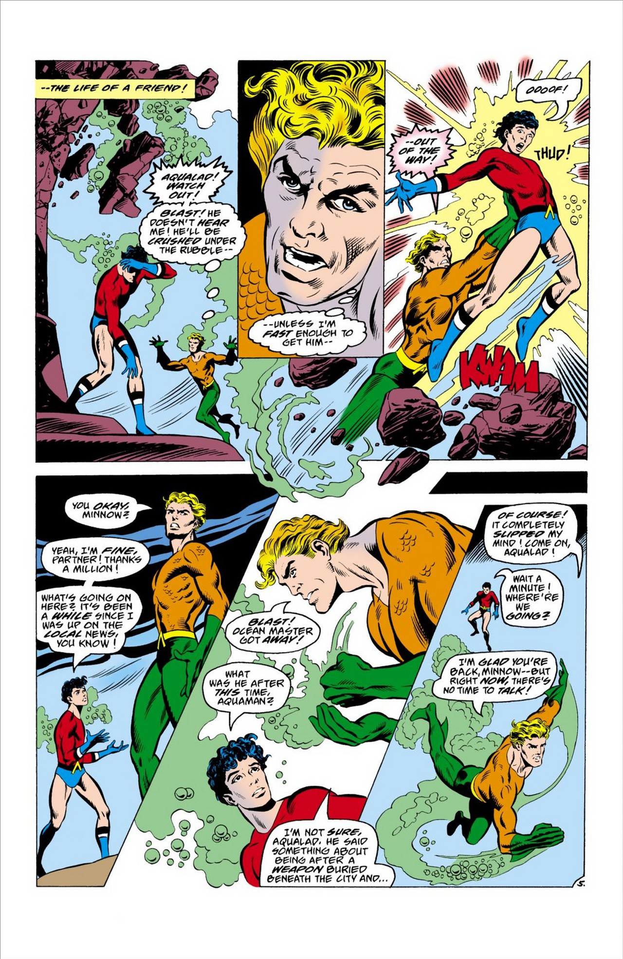 Read online Aquaman (1962) comic -  Issue #63 - 6
