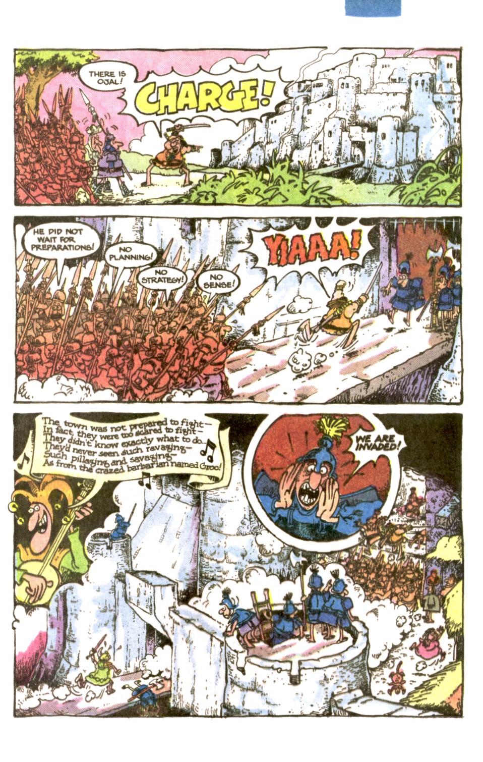 Read online Sergio Aragonés Groo the Wanderer comic -  Issue #1 - 15