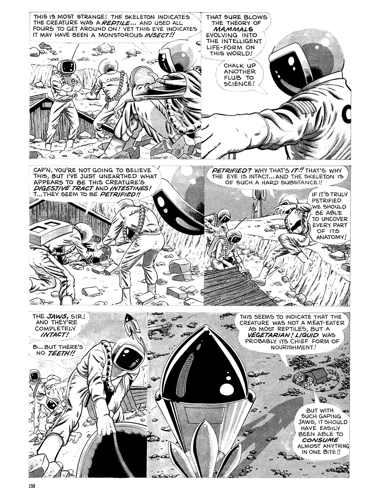 Read online Eerie Archives comic -  Issue # TPB 6 - 150