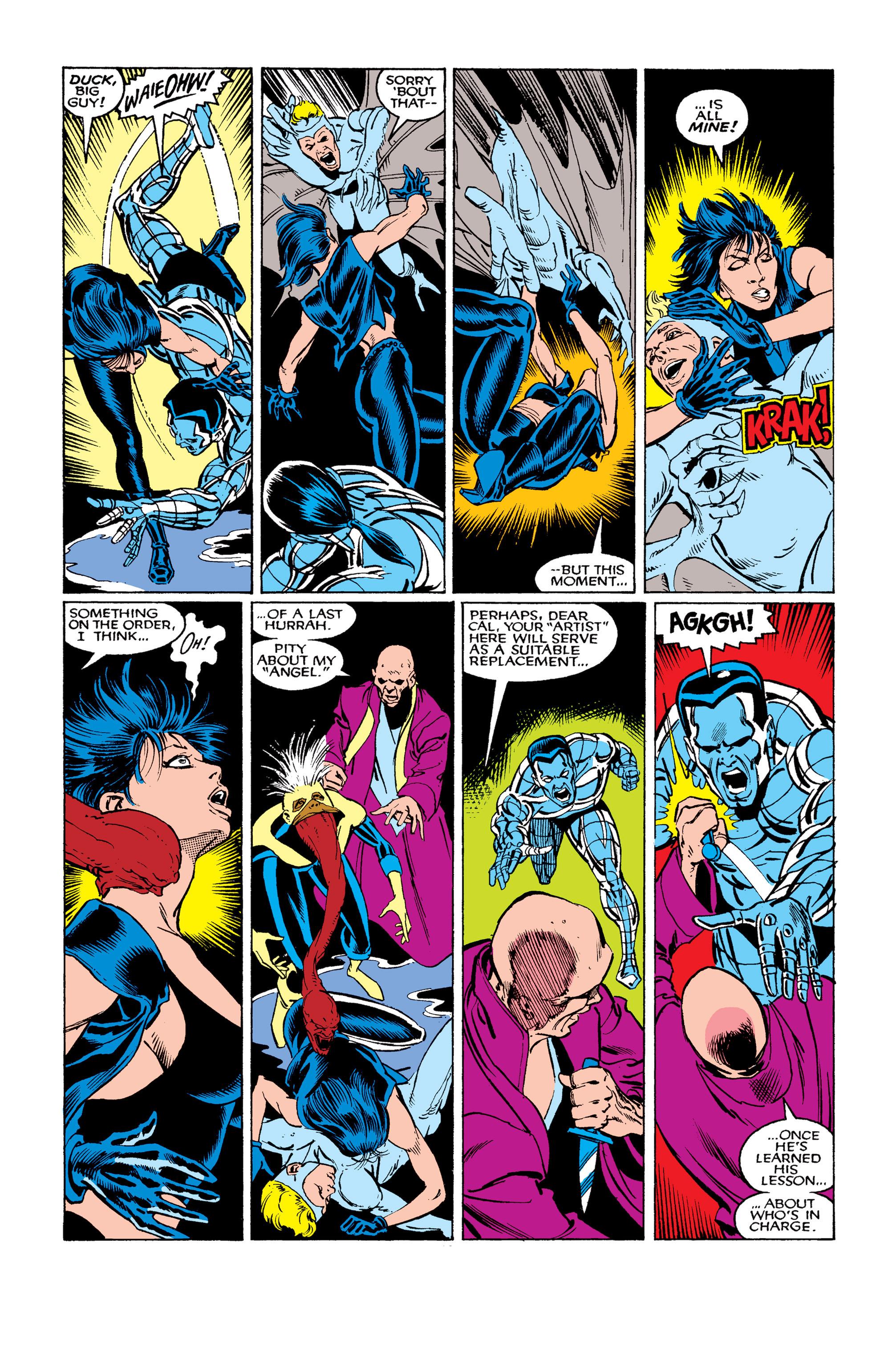 Read online Uncanny X-Men (1963) comic -  Issue #263 - 16