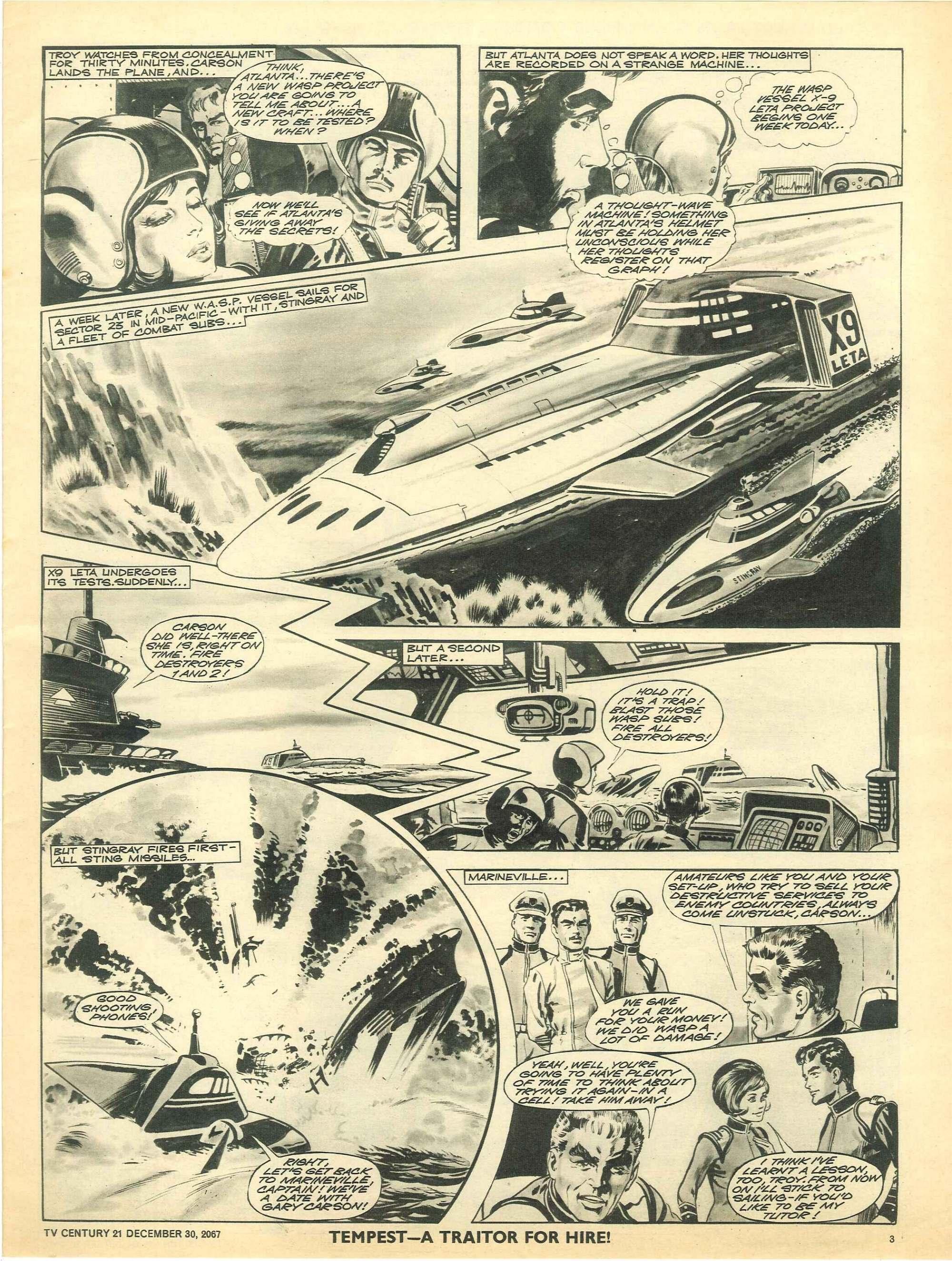 Read online TV Century 21 (TV 21) comic -  Issue #154 - 3
