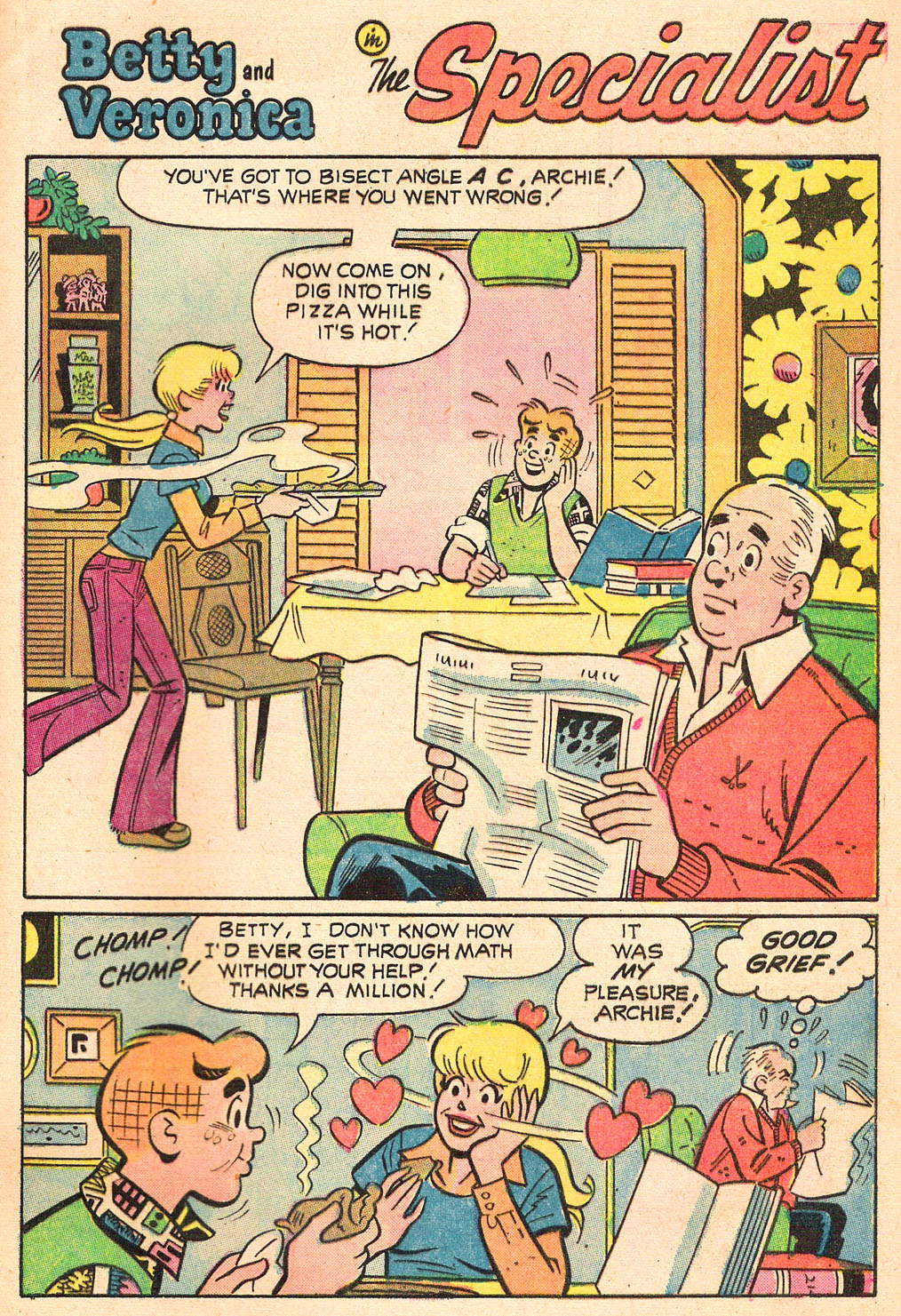 Read online Archie's Girls Betty and Veronica comic -  Issue #208 - 29