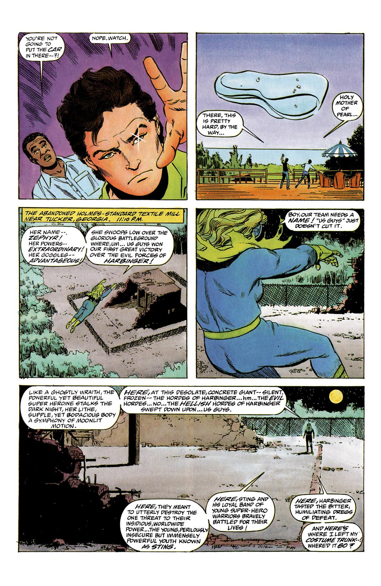 Read online Harbinger (1992) comic -  Issue #2 - 10
