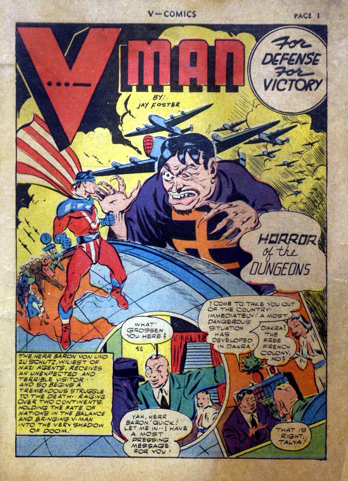 Read online V...- Comics comic -  Issue #2 - 2