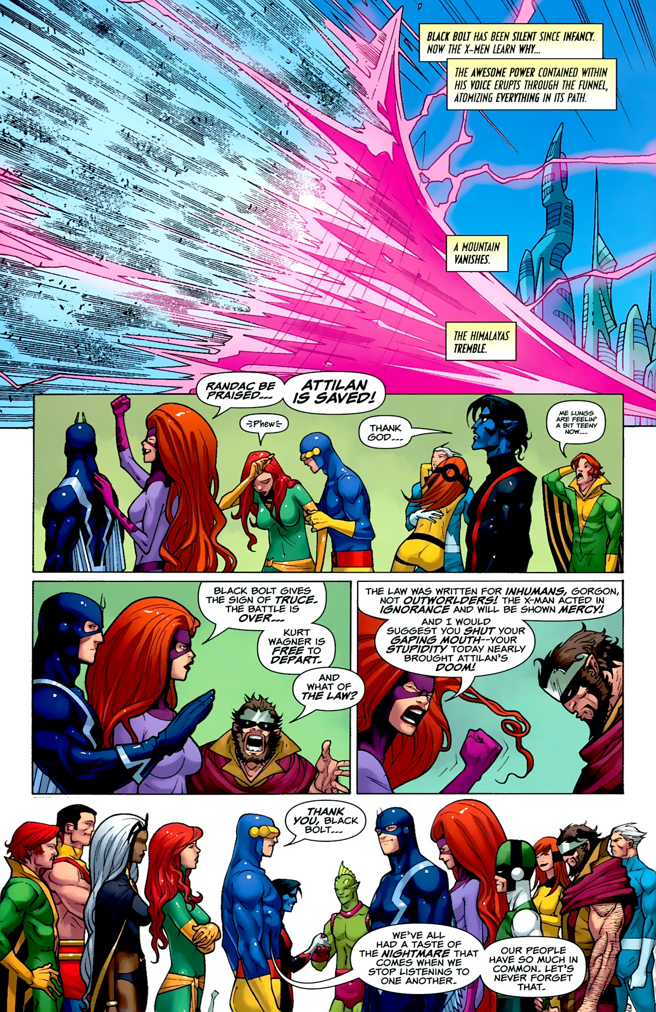 Read online Uncanny X-Men: First Class comic -  Issue #2 - 21