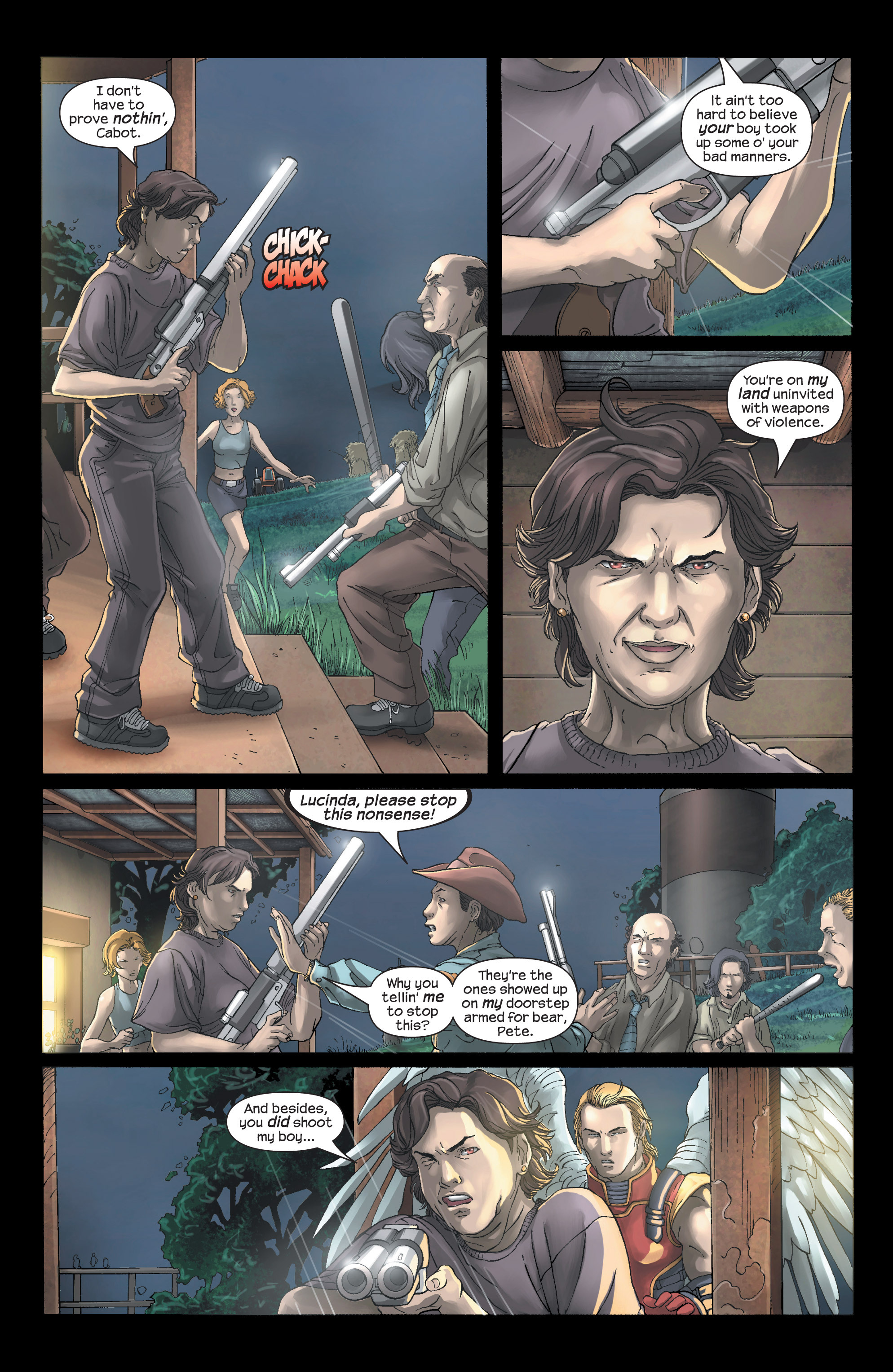 Read online Uncanny X-Men (1963) comic -  Issue #438 - 6