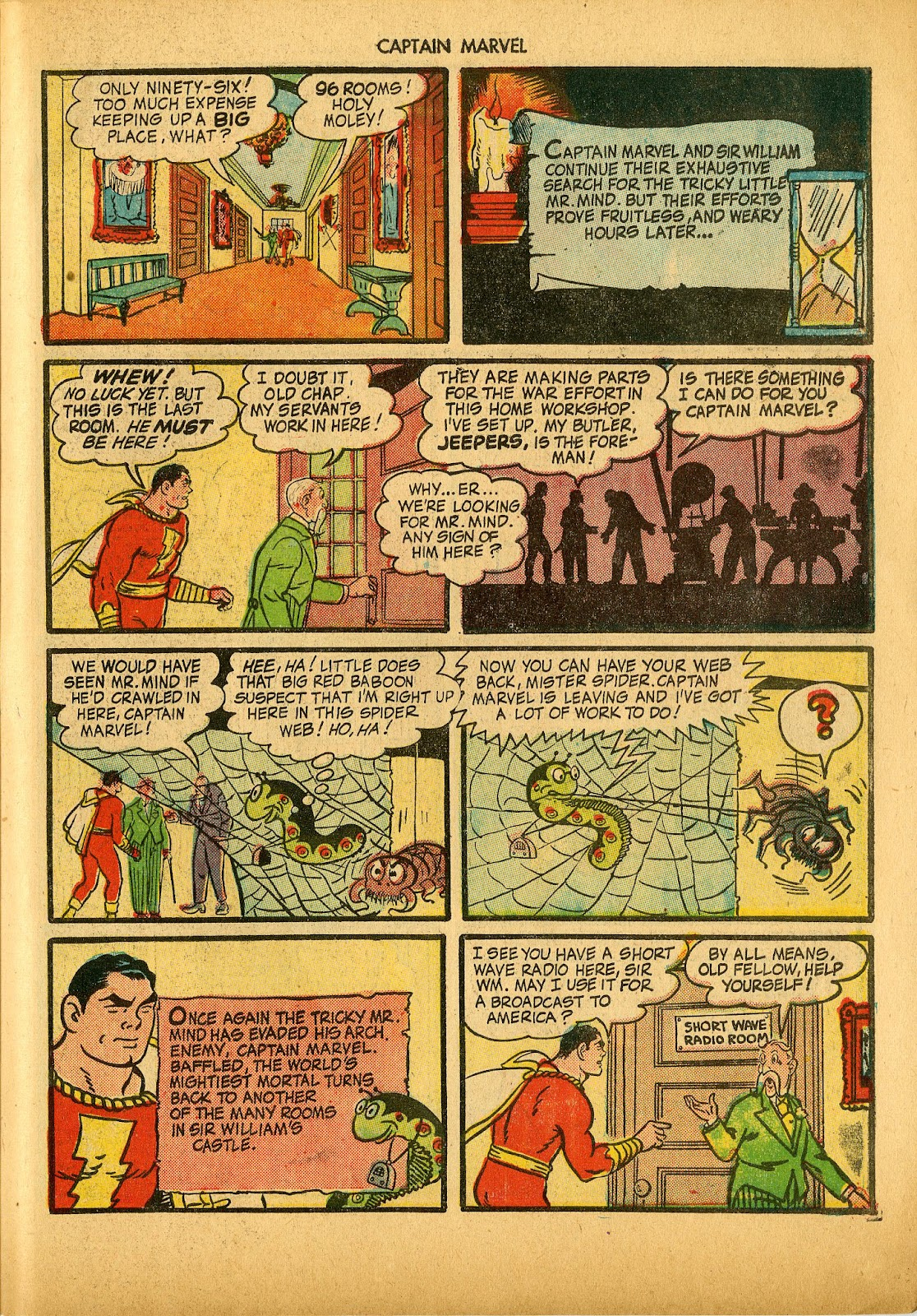 Captain Marvel Adventures issue 36 - Page 43