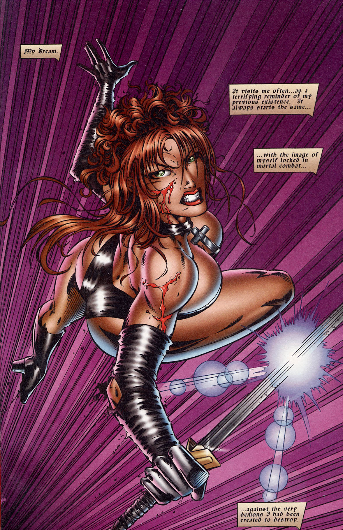 Read online Avengelyne (1995) comic -  Issue #3 - 3