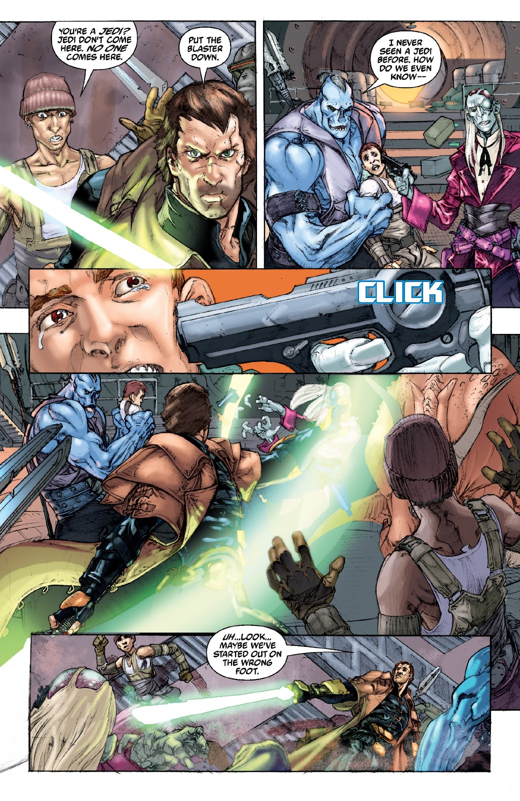 Read online Star Wars Legends Epic Collection: The Menace Revealed comic -  Issue # TPB (Part 4) - 91