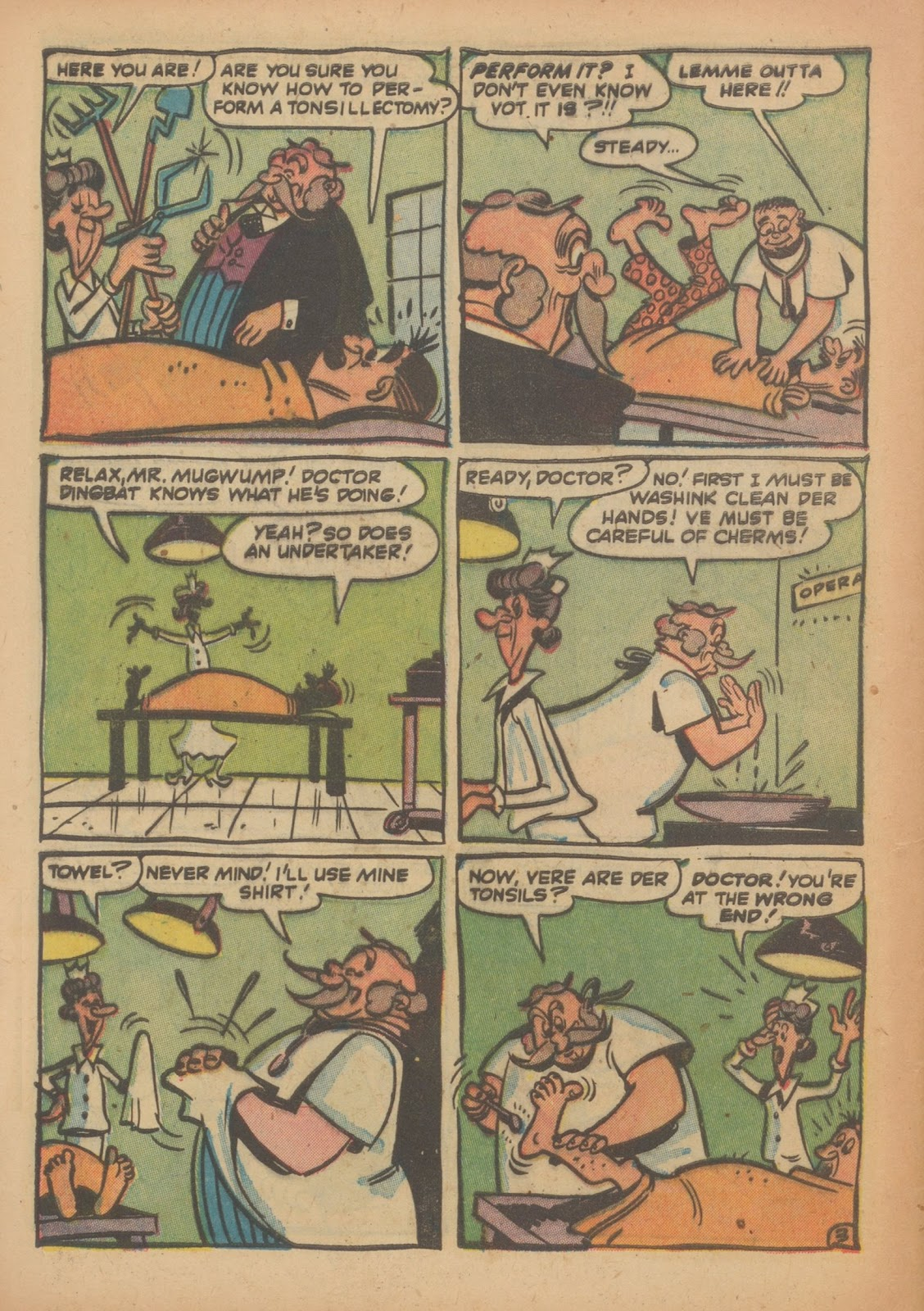 Read online Nellie The Nurse (1945) comic -  Issue #33 - 28