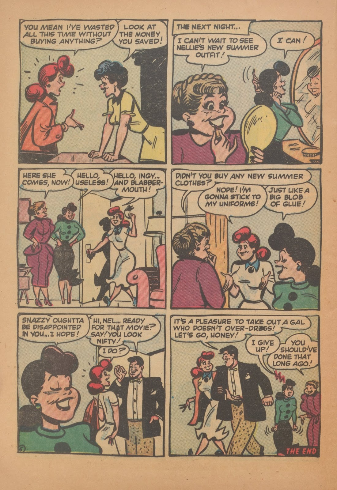 Read online Nellie The Nurse (1945) comic -  Issue #35 - 24