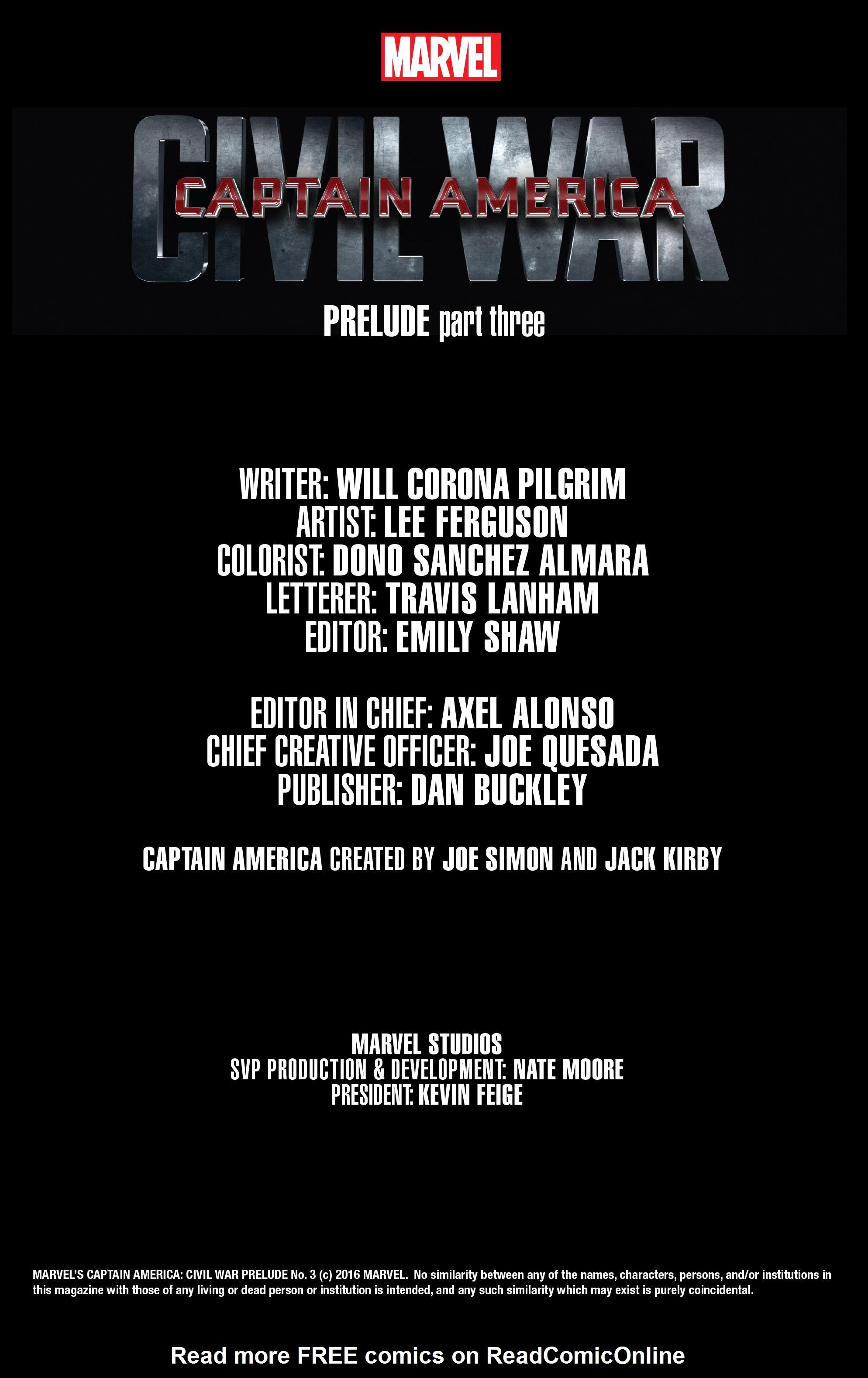 Read online Captain America: Civil War Prelude comic -  Issue #3 - 2