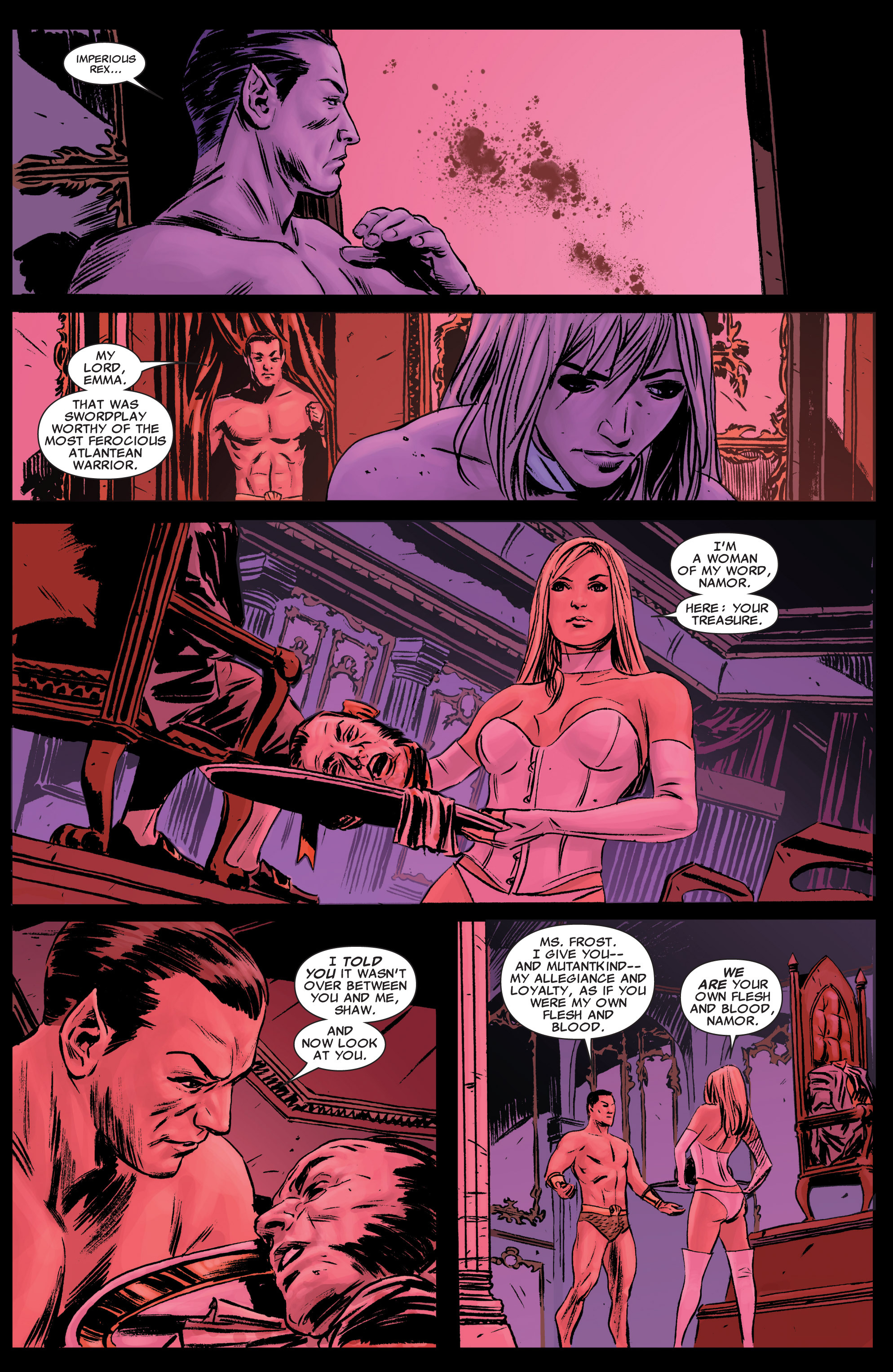 Read online Uncanny X-Men (1963) comic -  Issue # _Annual 2 (2009) - 36