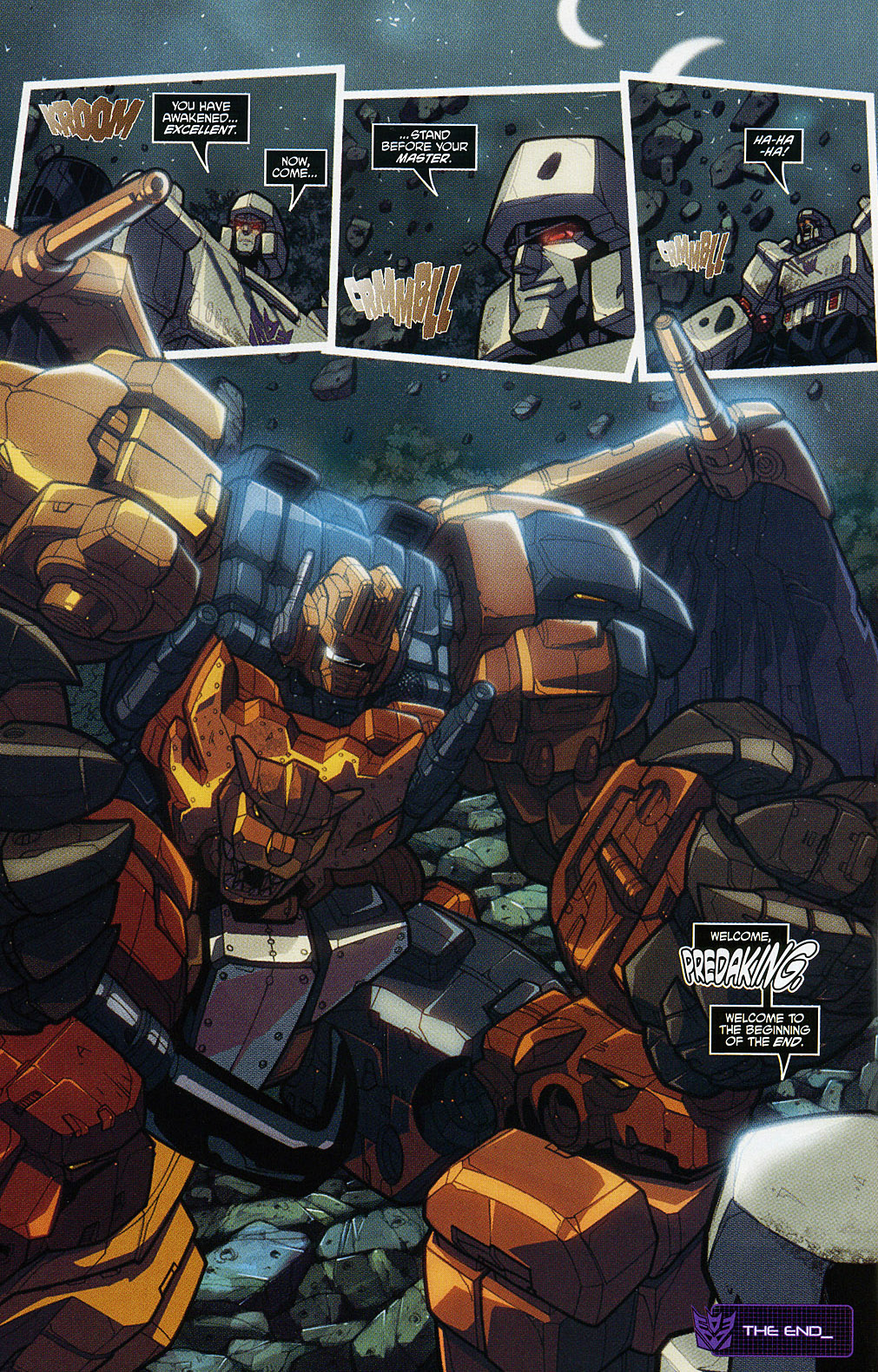 Read online Transformers 20th Anniversary Summer Special comic -  Issue # Full - 11