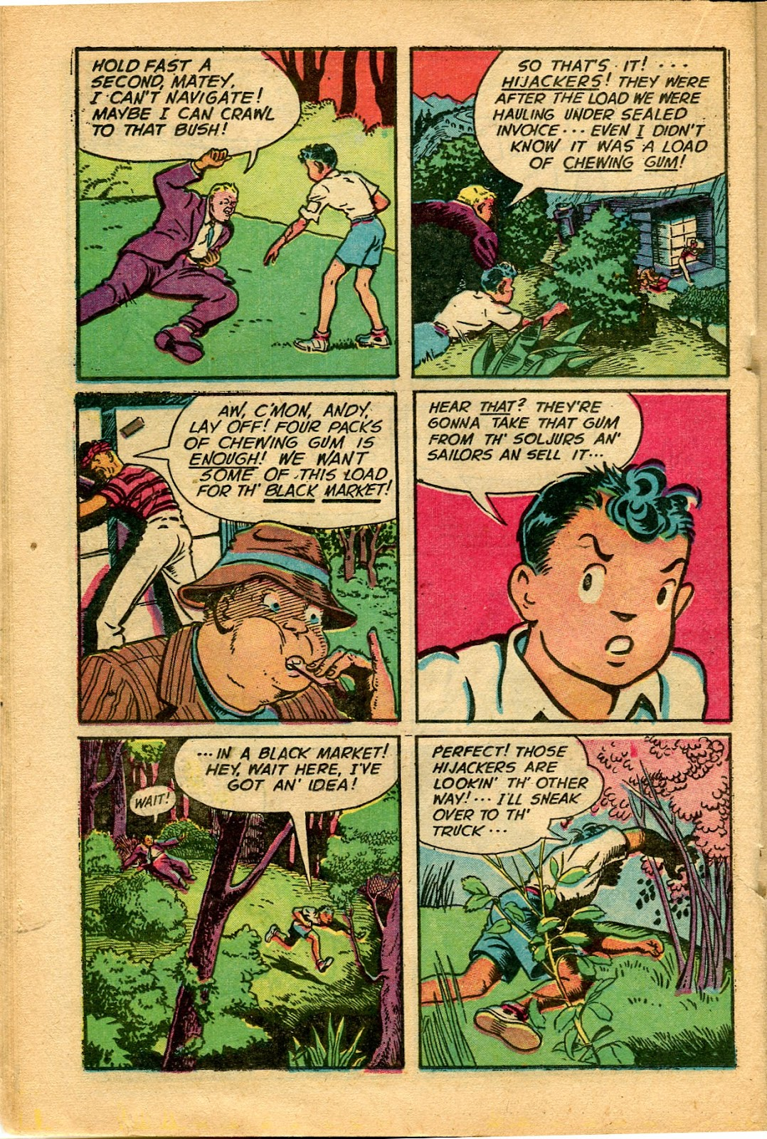 Read online Famous Funnies comic -  Issue #152 - 30
