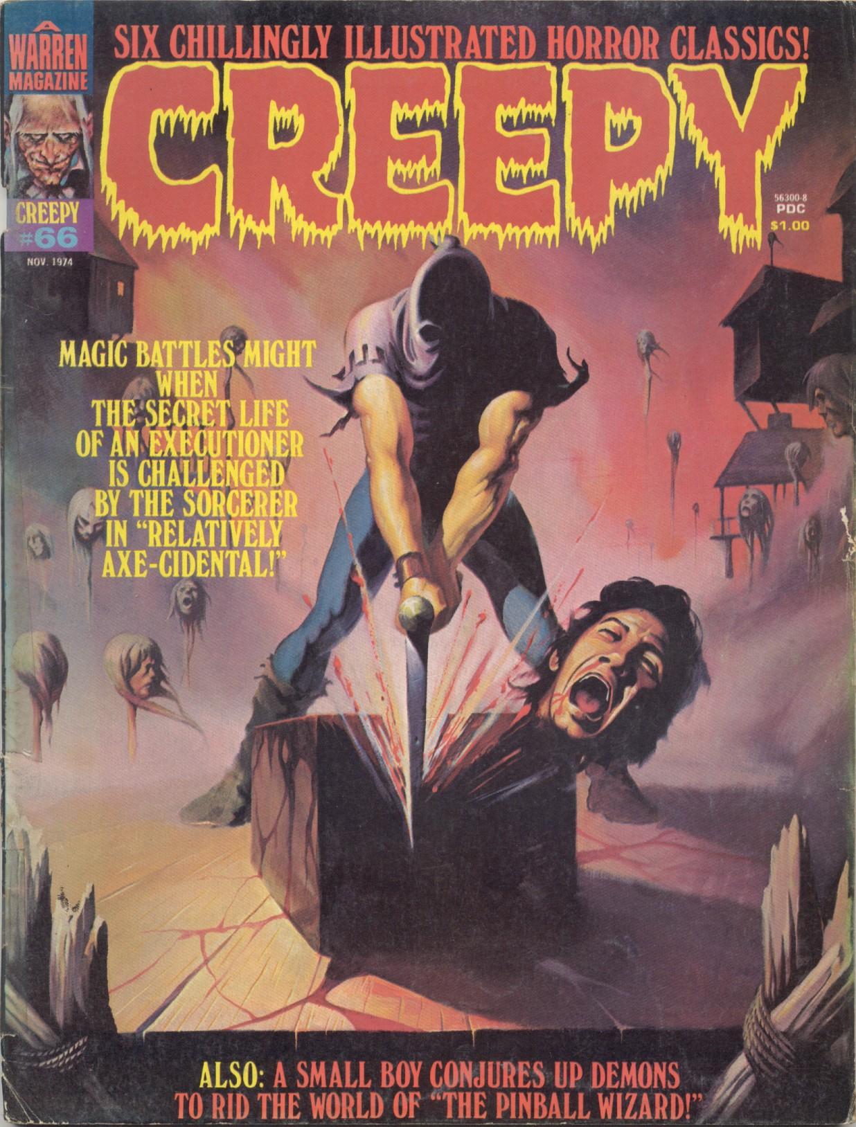 Creepy (1964) 66 Page 1
