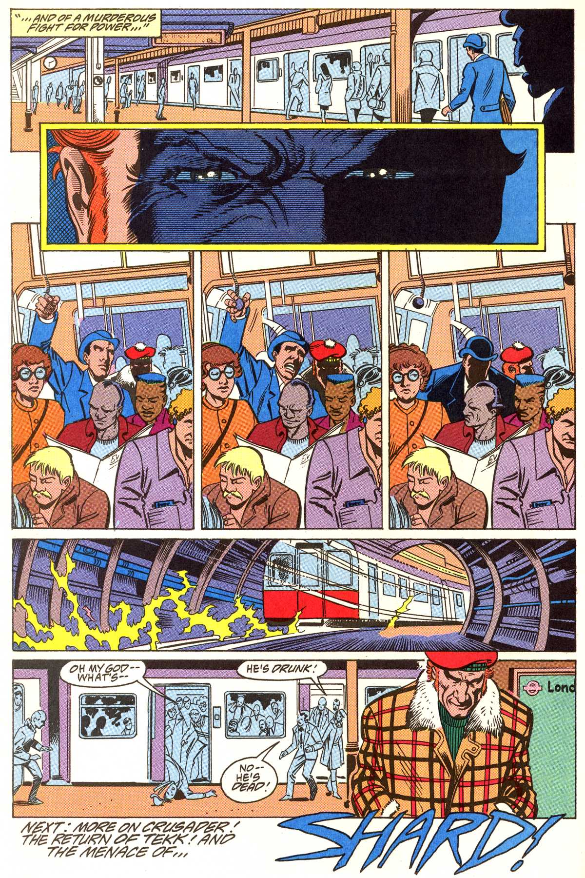 Read online Peter Cannon--Thunderbolt (1992) comic -  Issue #5 - 23