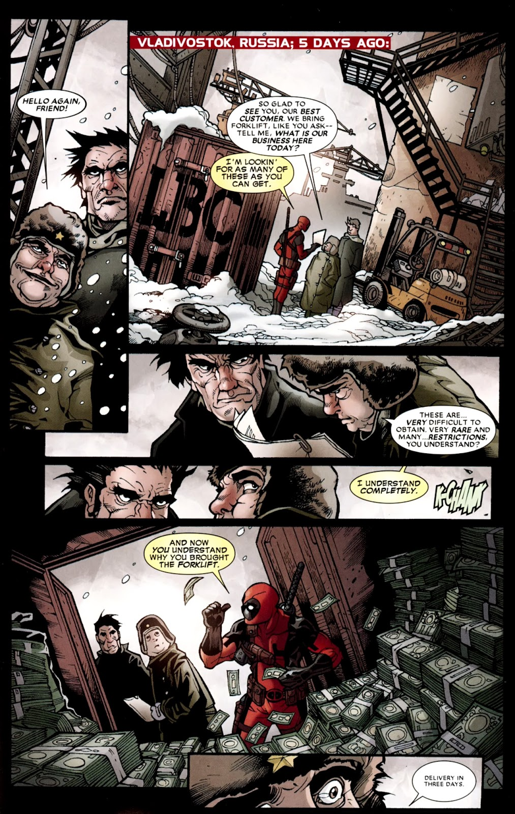 Read online Deadpool (2008) comic -  Issue #37 - 7