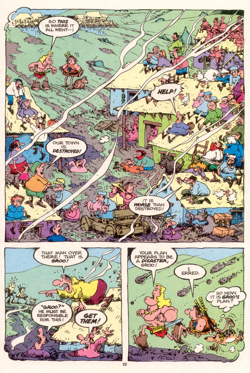 Read online Sergio Aragonés Groo the Wanderer comic -  Issue #96 - 23
