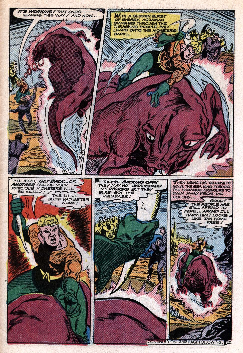 Read online Aquaman (1962) comic -  Issue #41 - 28