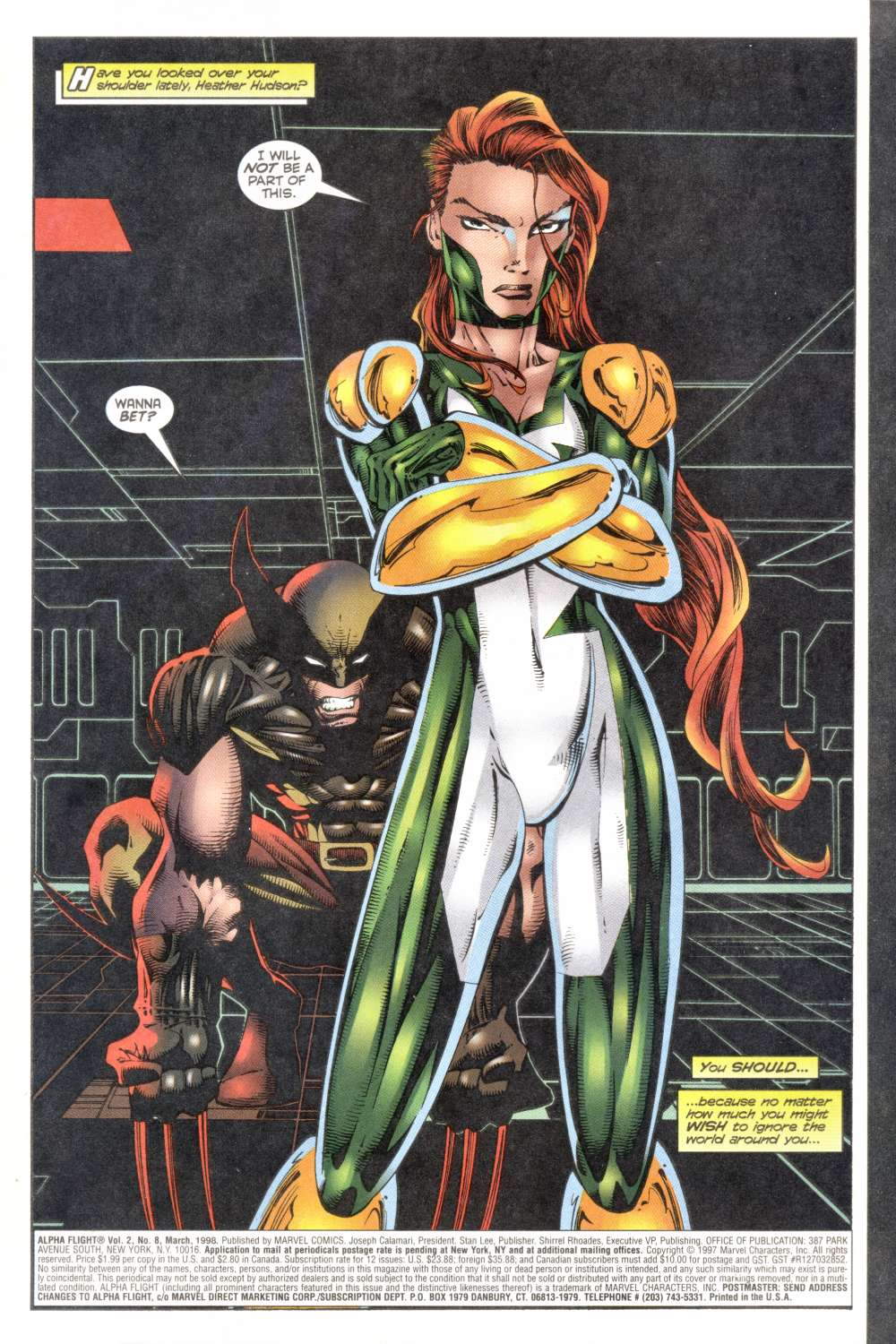 Read online Alpha Flight (1997) comic -  Issue #8 - 3