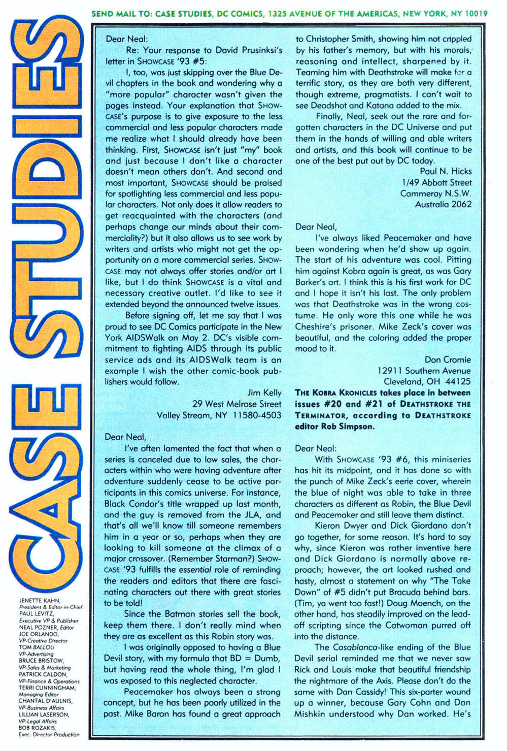Read online Showcase '93 comic -  Issue #9 - 39