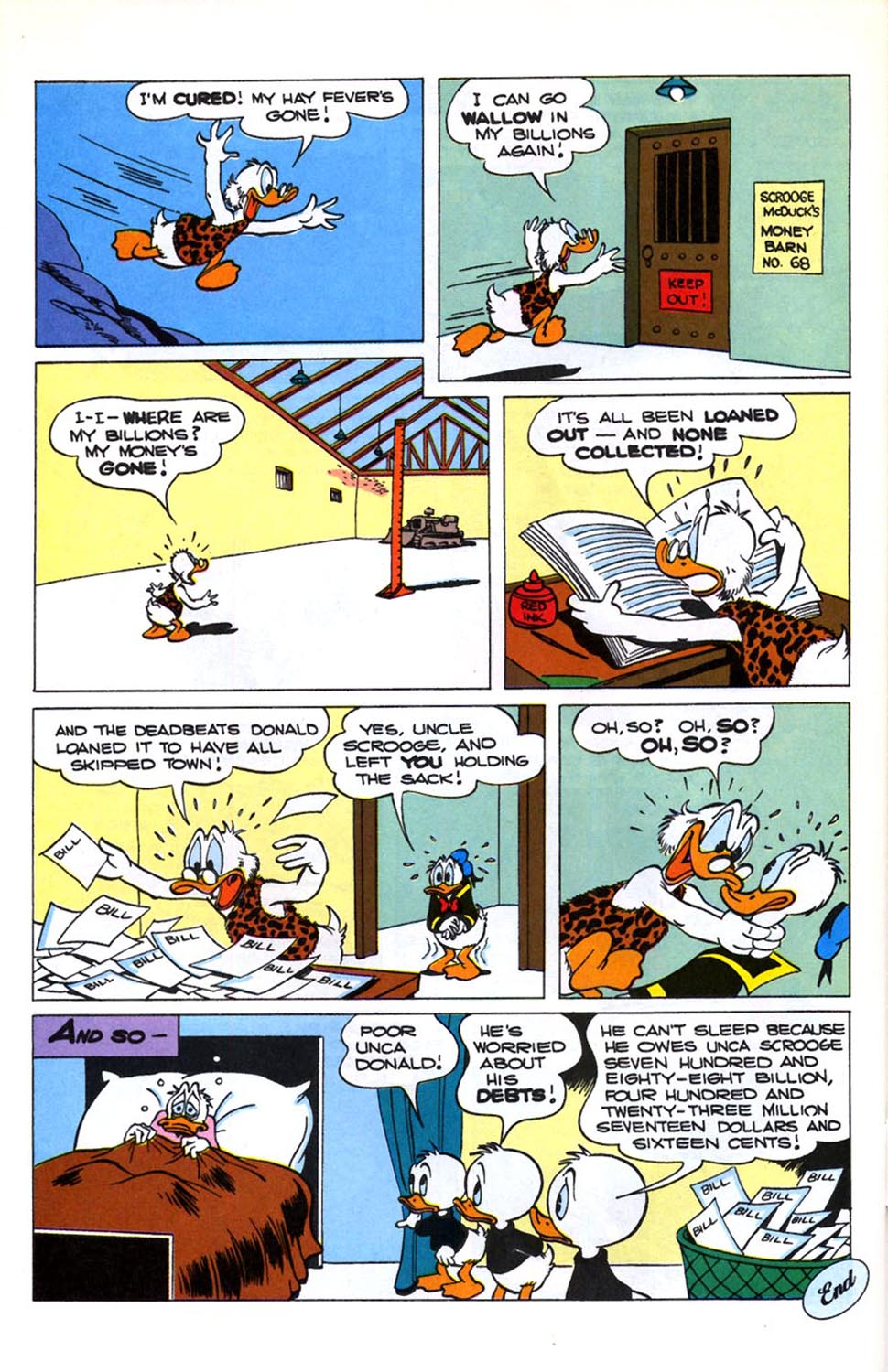 Read online Uncle Scrooge (1953) comic -  Issue #246 - 28