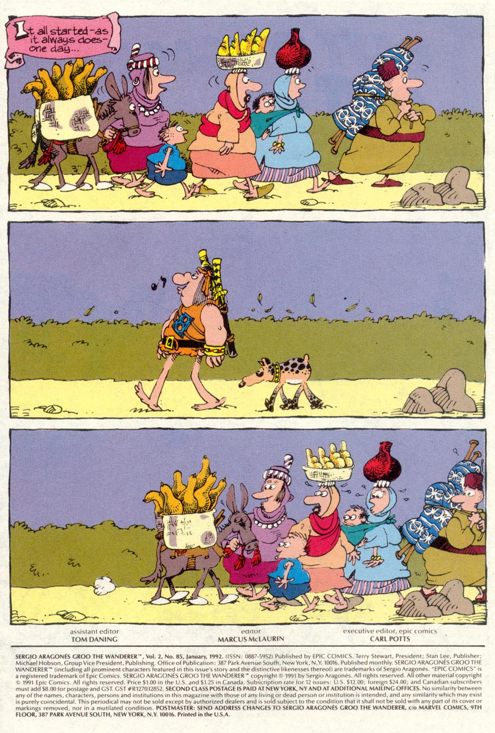 Read online Sergio Aragonés Groo the Wanderer comic -  Issue #85 - 2