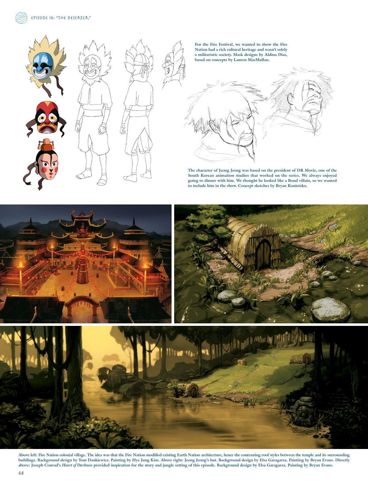 Read online Avatar: The Last Airbender - The Art of the Animated Series comic -  Issue # TPB (Part 1) - 69