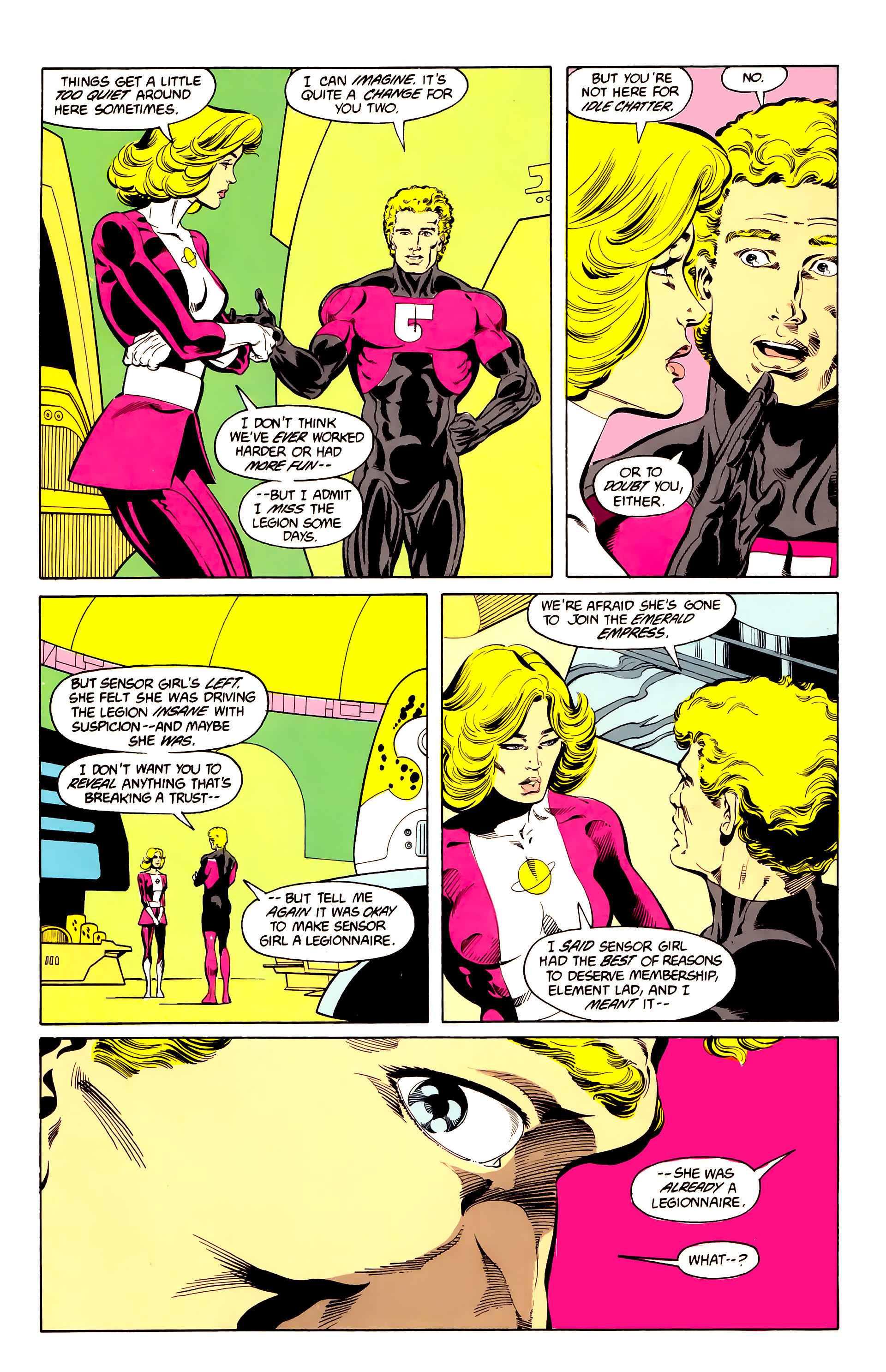 Legion of Super-Heroes (1984) 25 Page 24