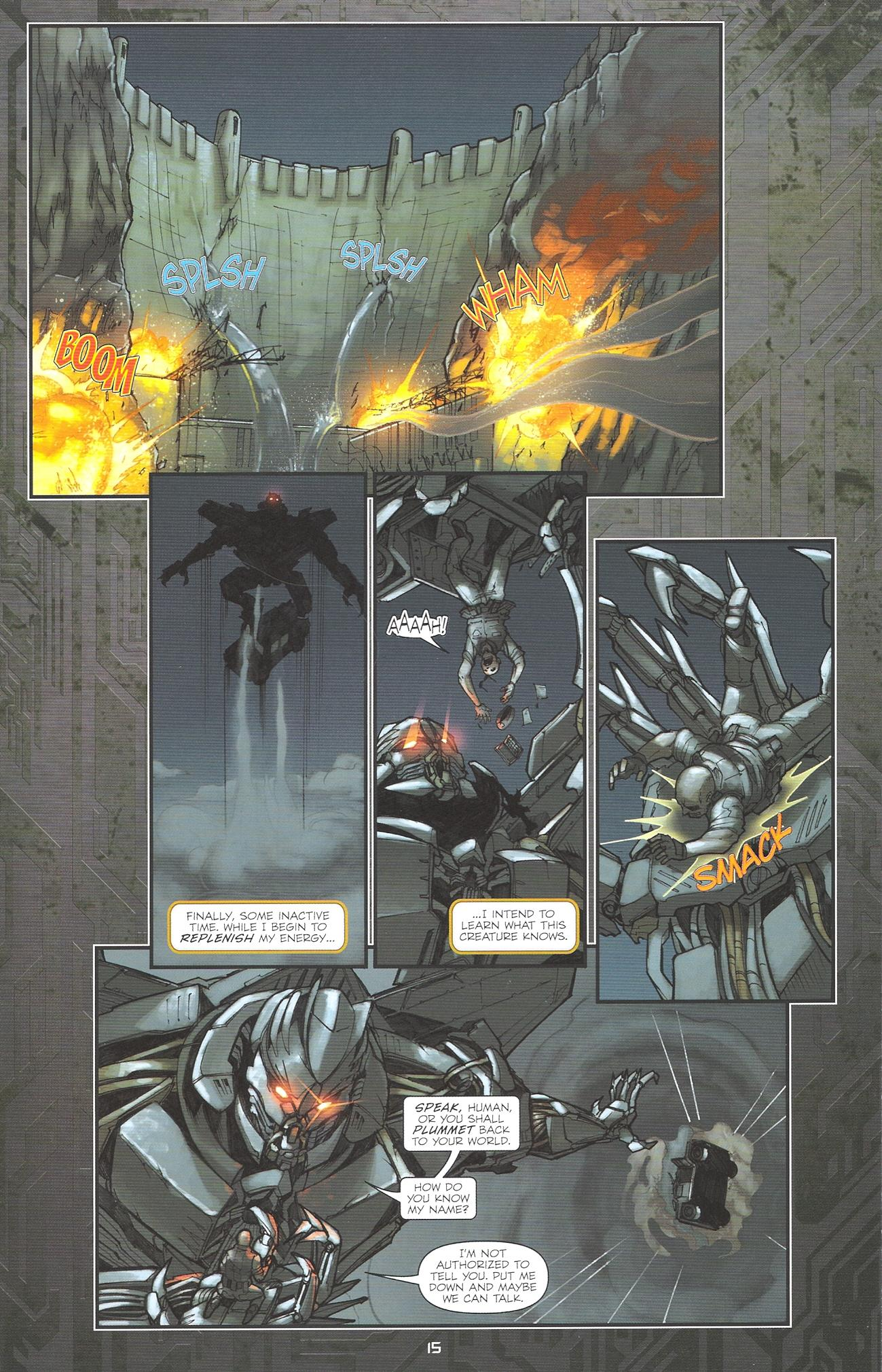 Read online Transformers: The Reign of Starscream comic -  Issue #2 - 17